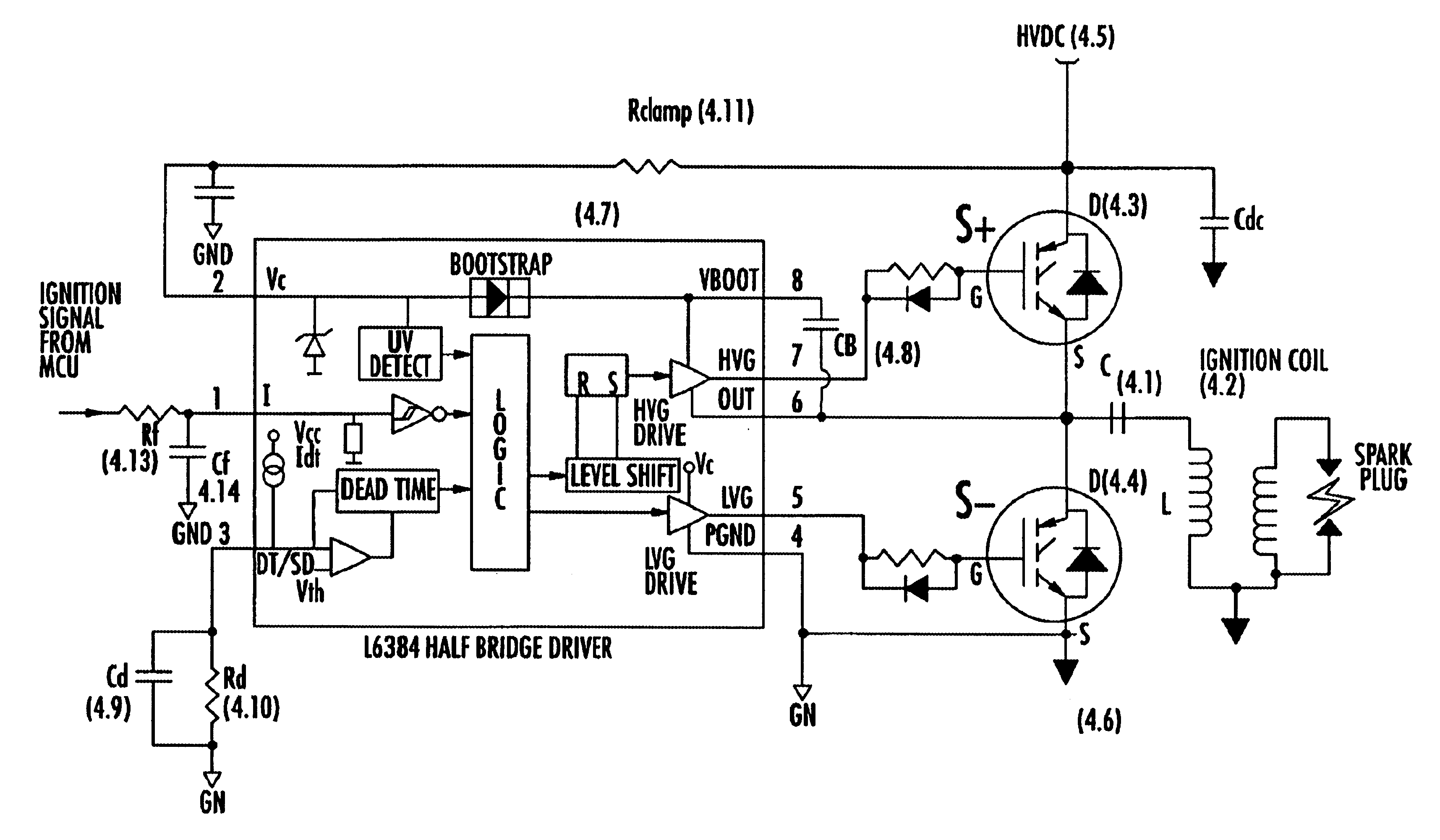 US06662792 20031216 D00000 patent us6662792 capacitor discharge ignition (cdi) system ignition coil circuit diagram at et-consult.org