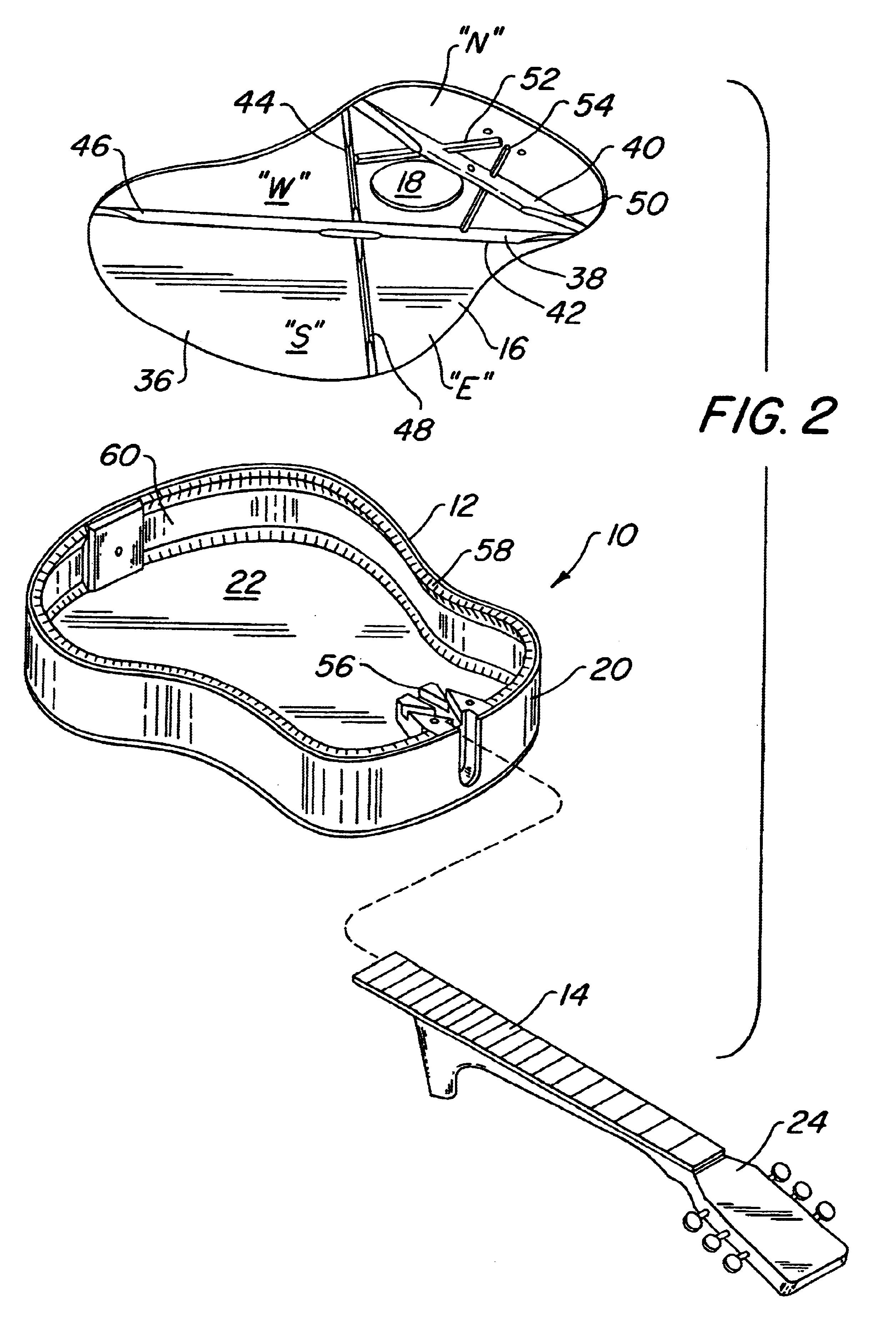 patent us6664452 - acoustic guitar having a composite soundboard