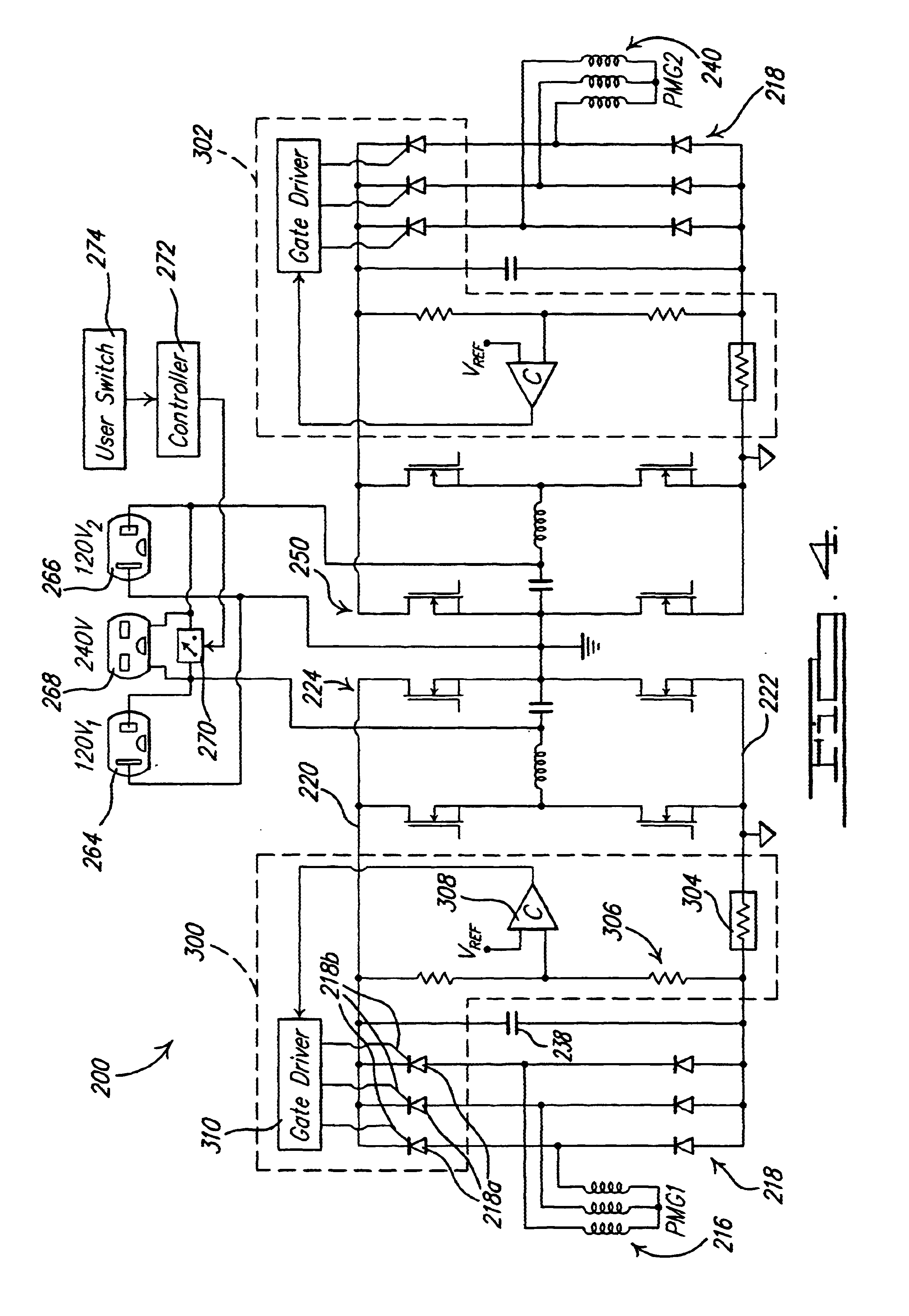 patent us6665158  inverter with dual h