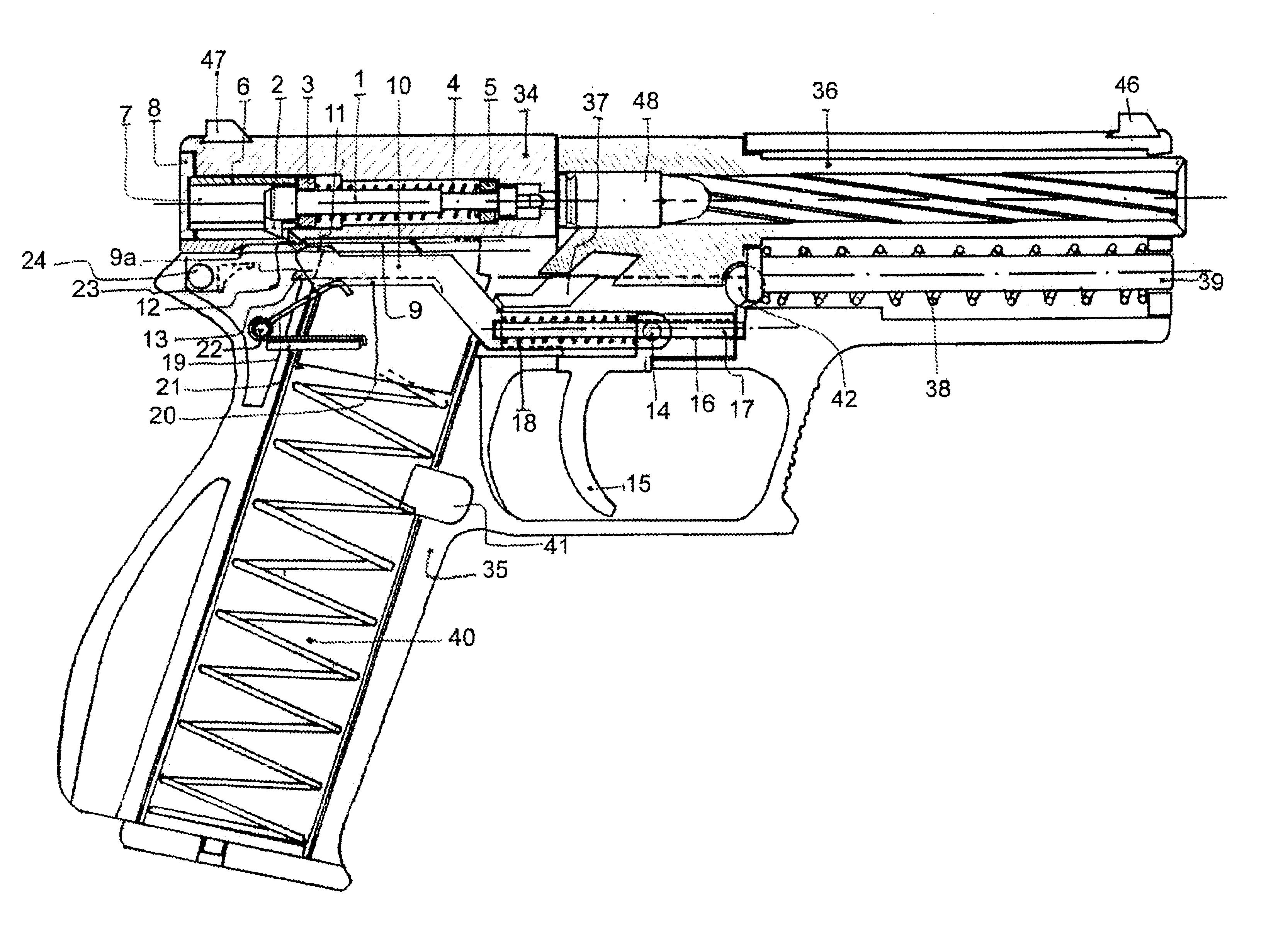 Firing Mechanisms For Guns : Patent us striker trigger mechanism for automatic