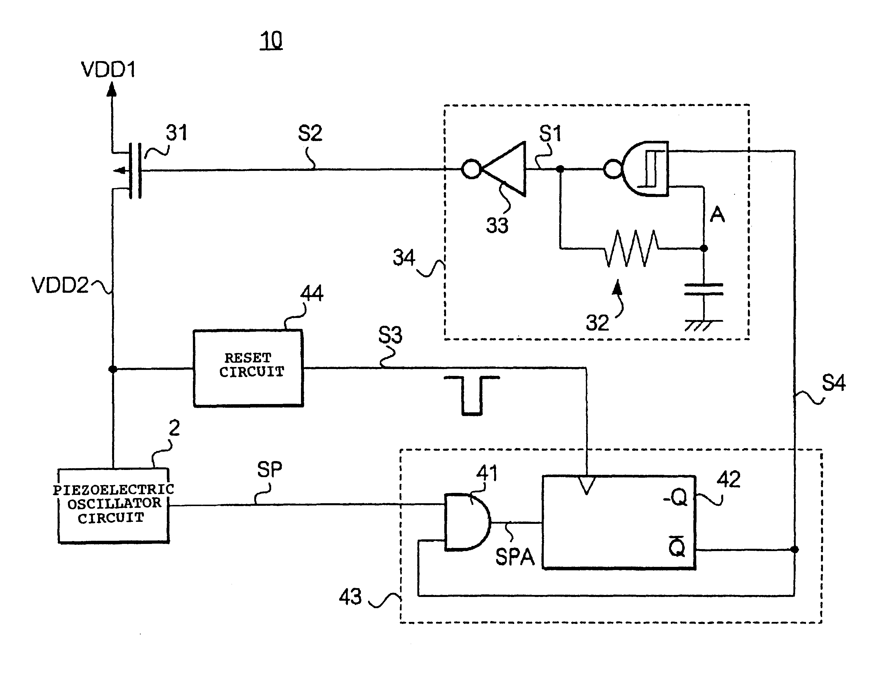 Patente Us6670860 Oscillator And Control Method For Controlling Circuit Diagram Patent Drawing