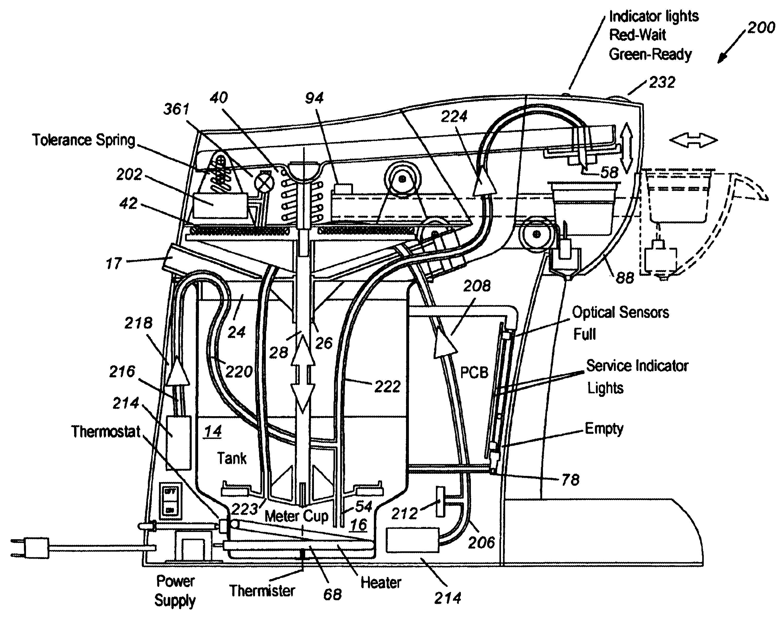 will water pump diagram