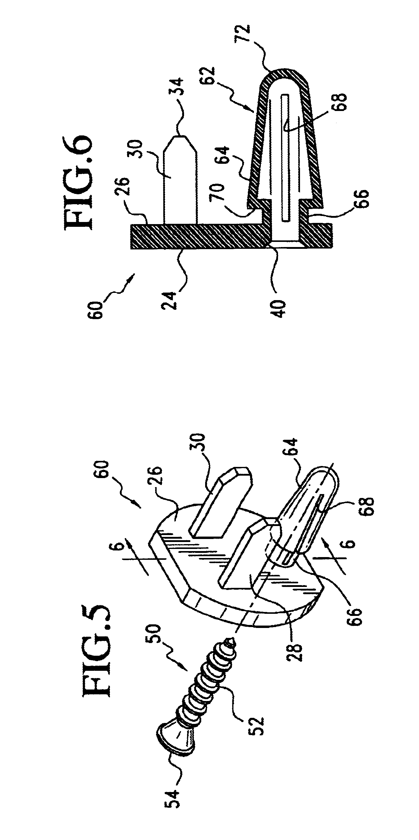 patent us6674003 - tamper-resistant outlet cover