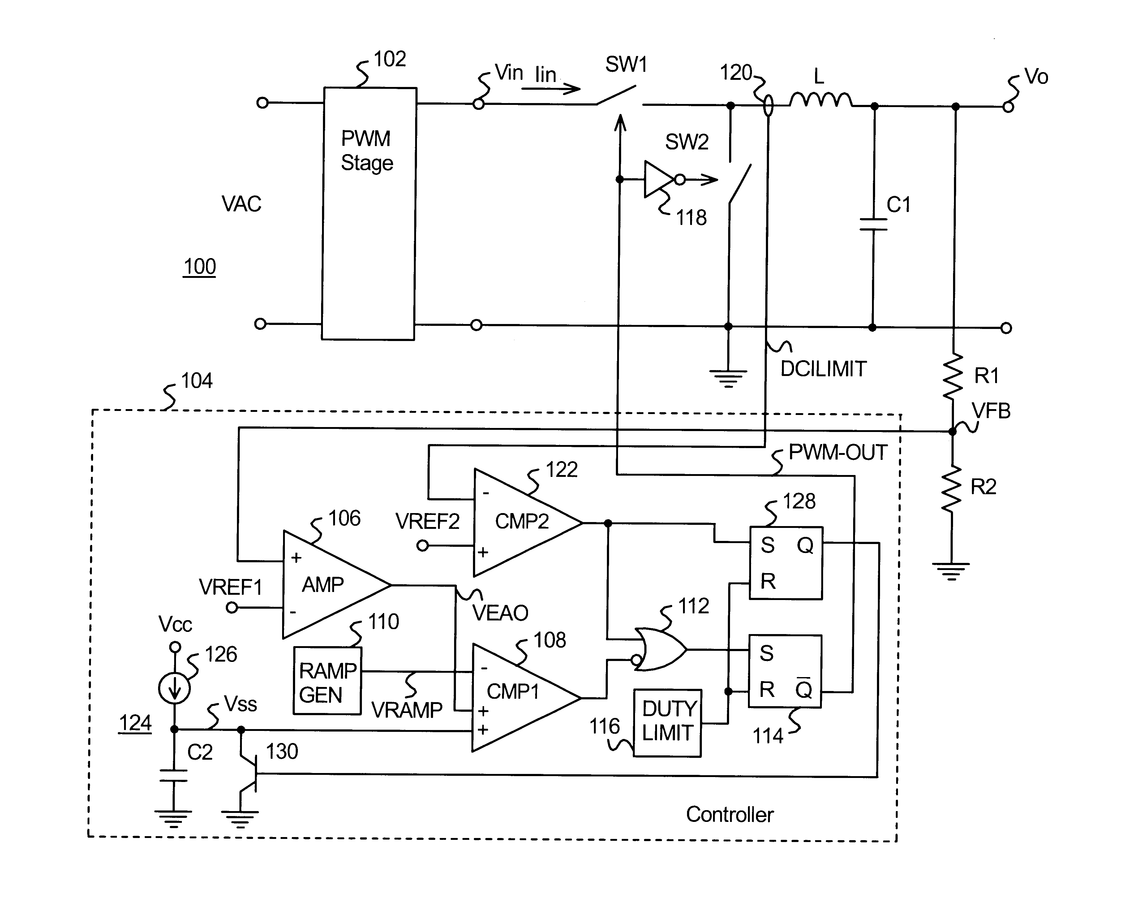 Patent Us6674272 Current Limiting Technique For A Switching Power Adjustable Direct And Pulsed Circuit Fault Limiter Drawing