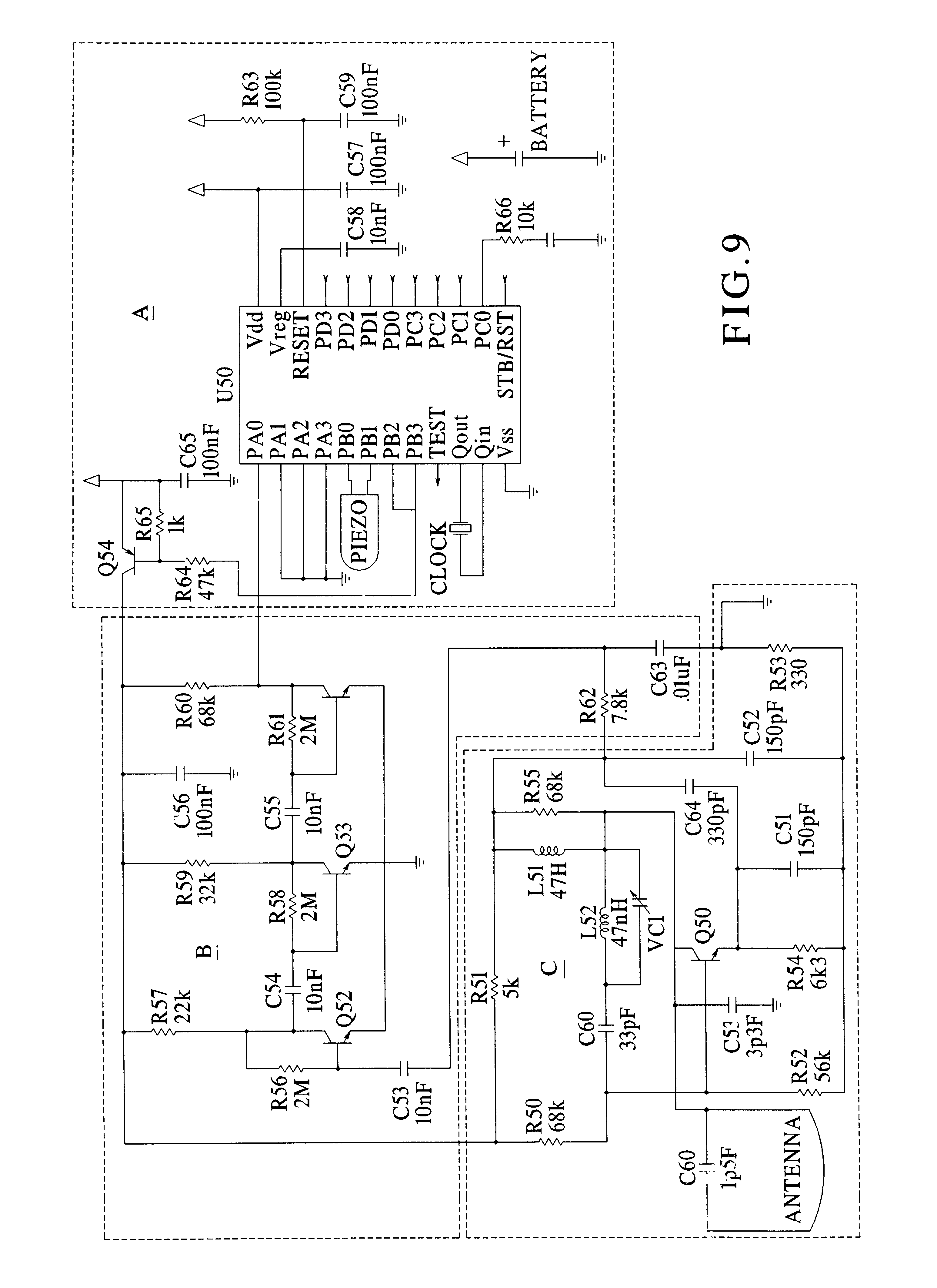 US06674364 20040106 D00007 patent us6674364 object finder google patents  at reclaimingppi.co