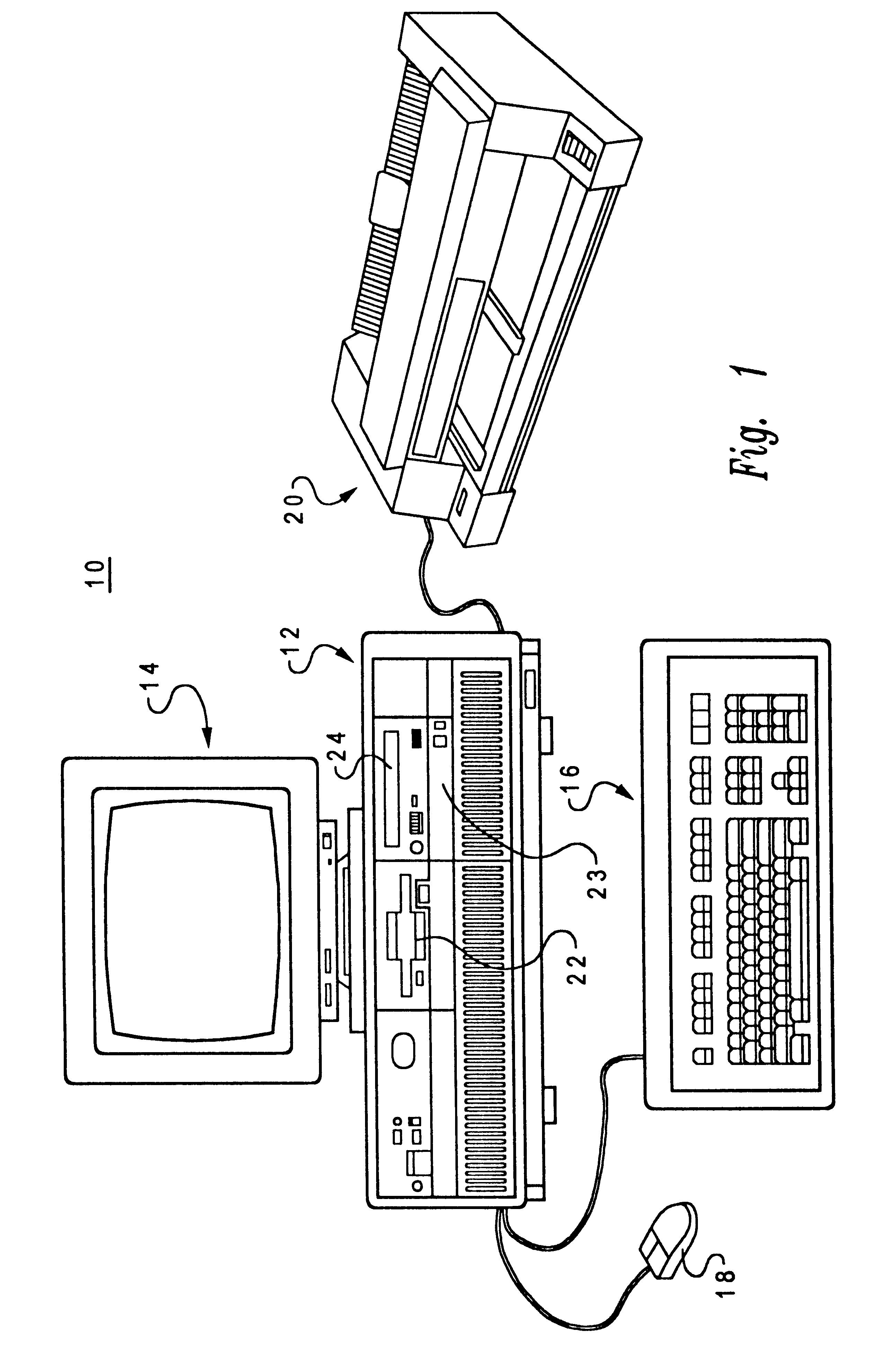 patent us6678712 method and system for executing a