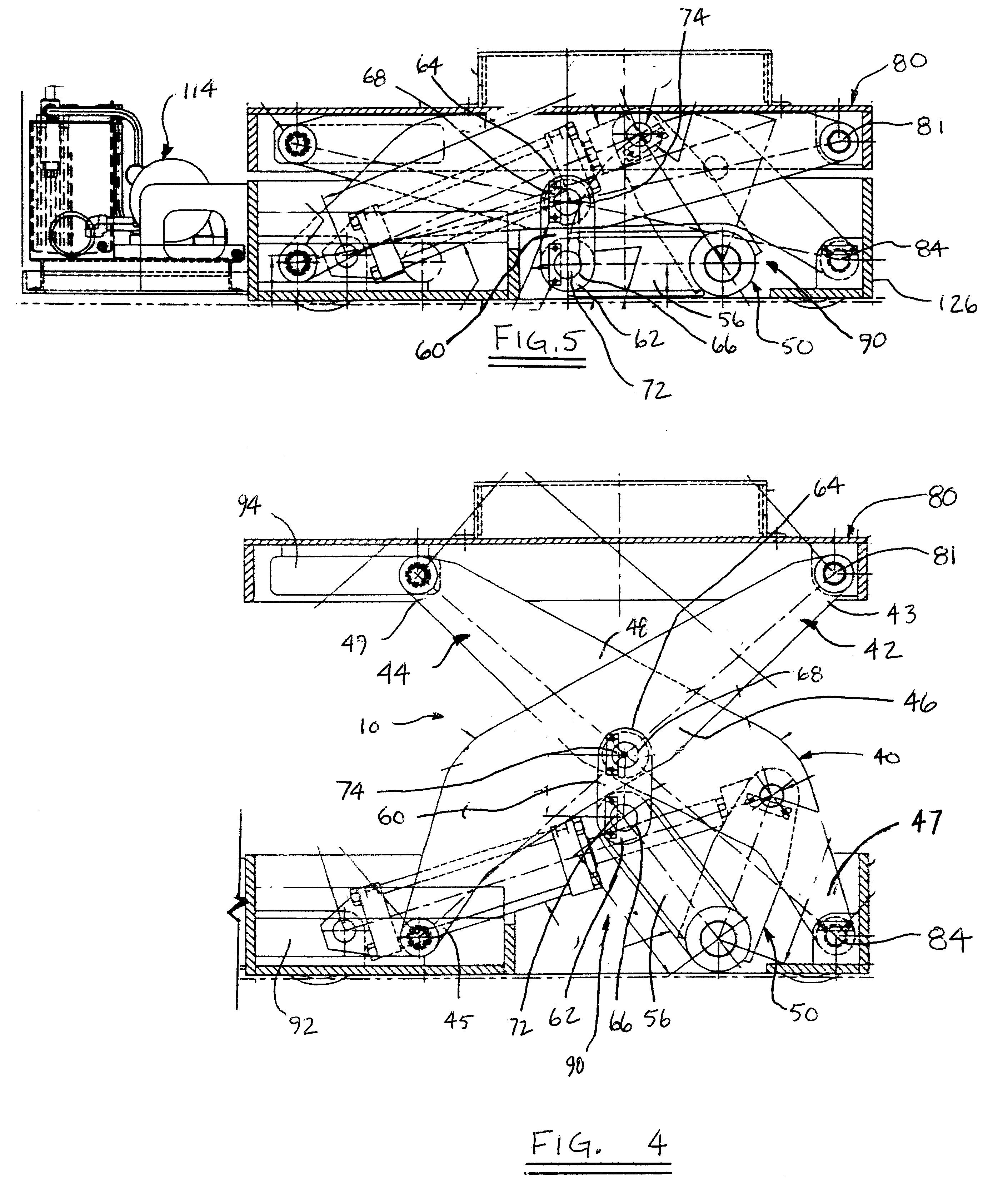 Scissor Lift Mechanism Design : Patent us scissor lift mechanism google patents
