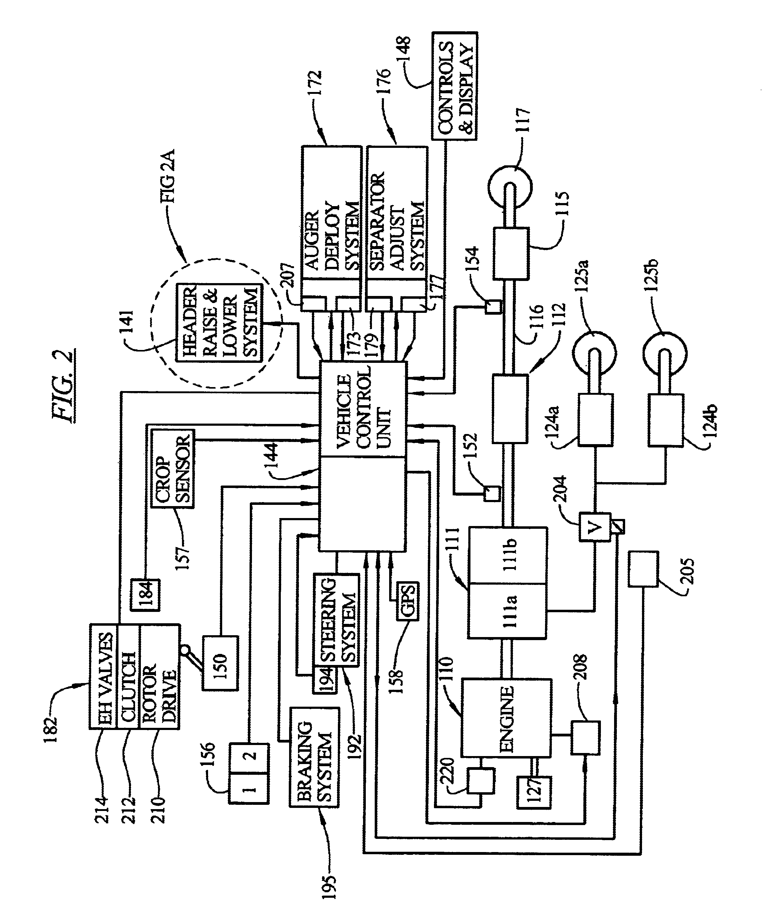 US06681551 20040127 D00002 patent us6681551 programmable function control for combine Thermostat Wiring Diagram at bayanpartner.co