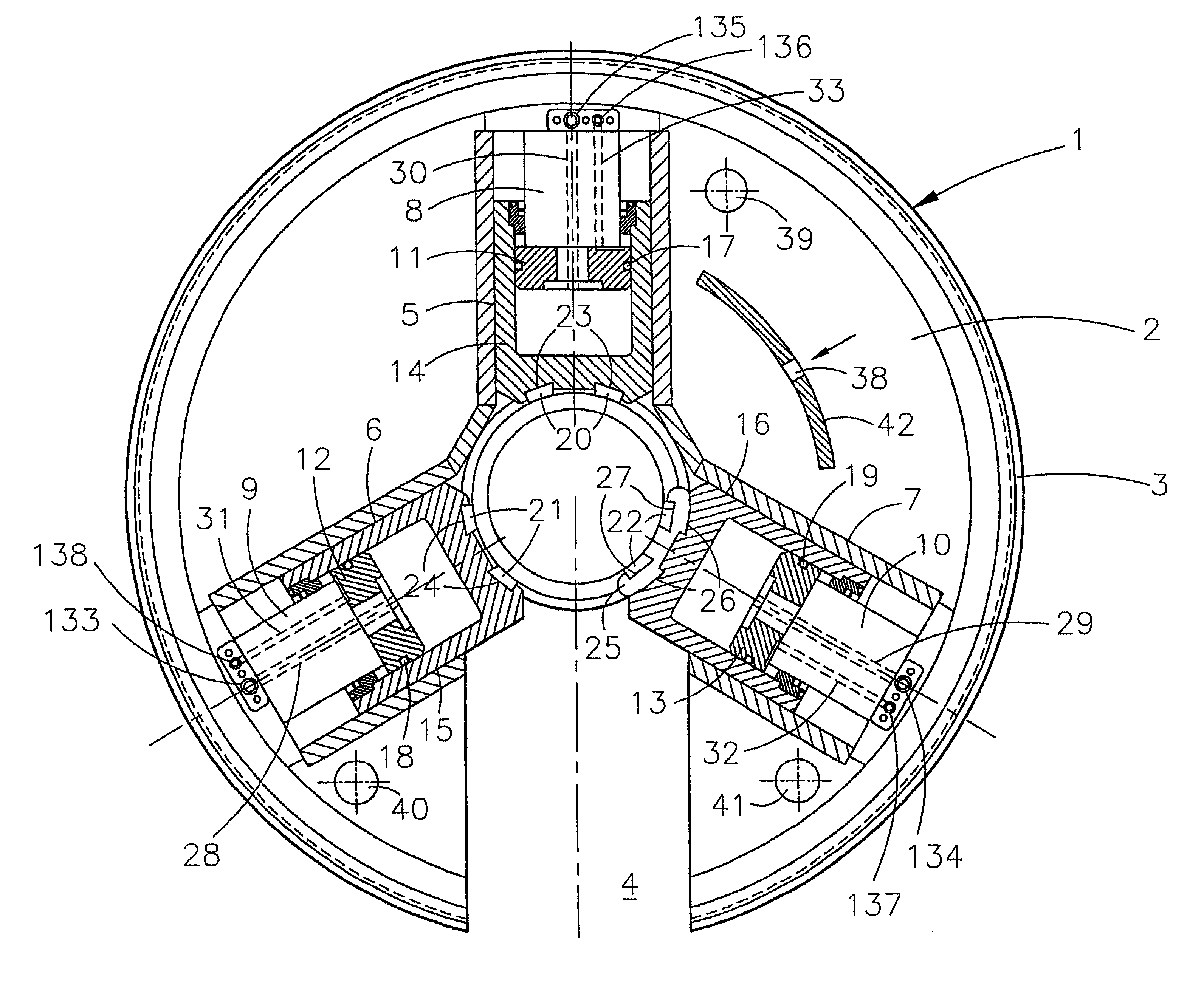 patent us6684737 - power tong