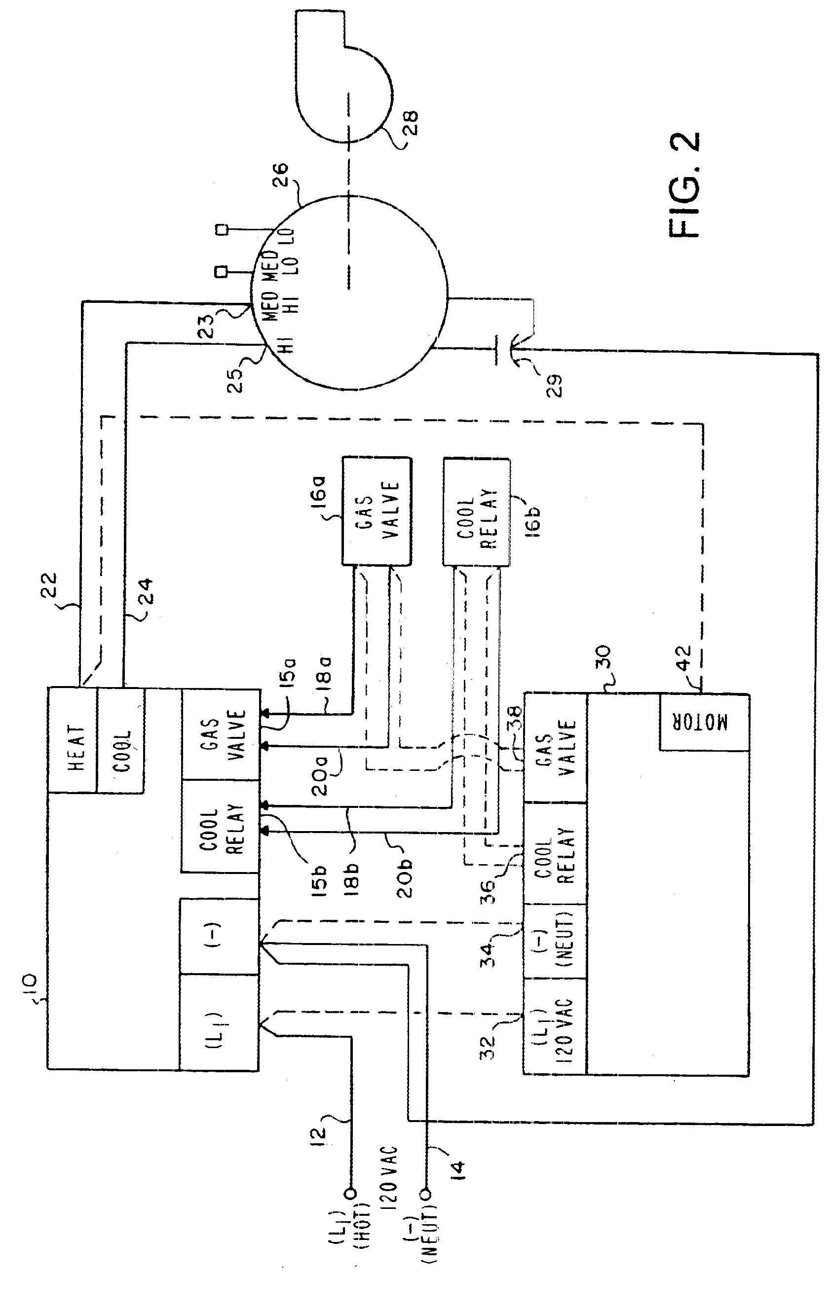 Patent Us6684944 Variable Speed Fan Motor Control For