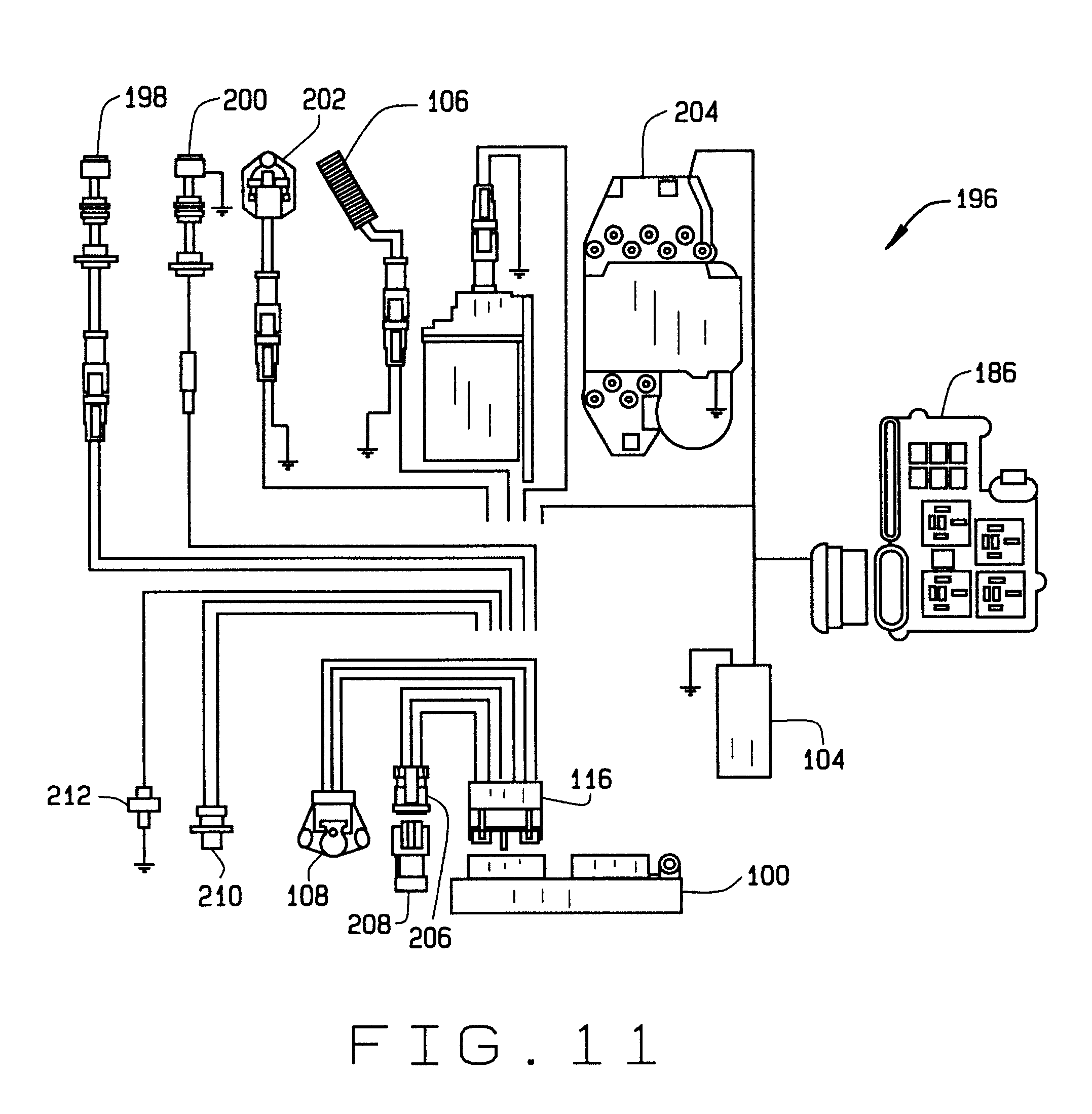 patent us6694929 water cooled engine control google patents patent drawing