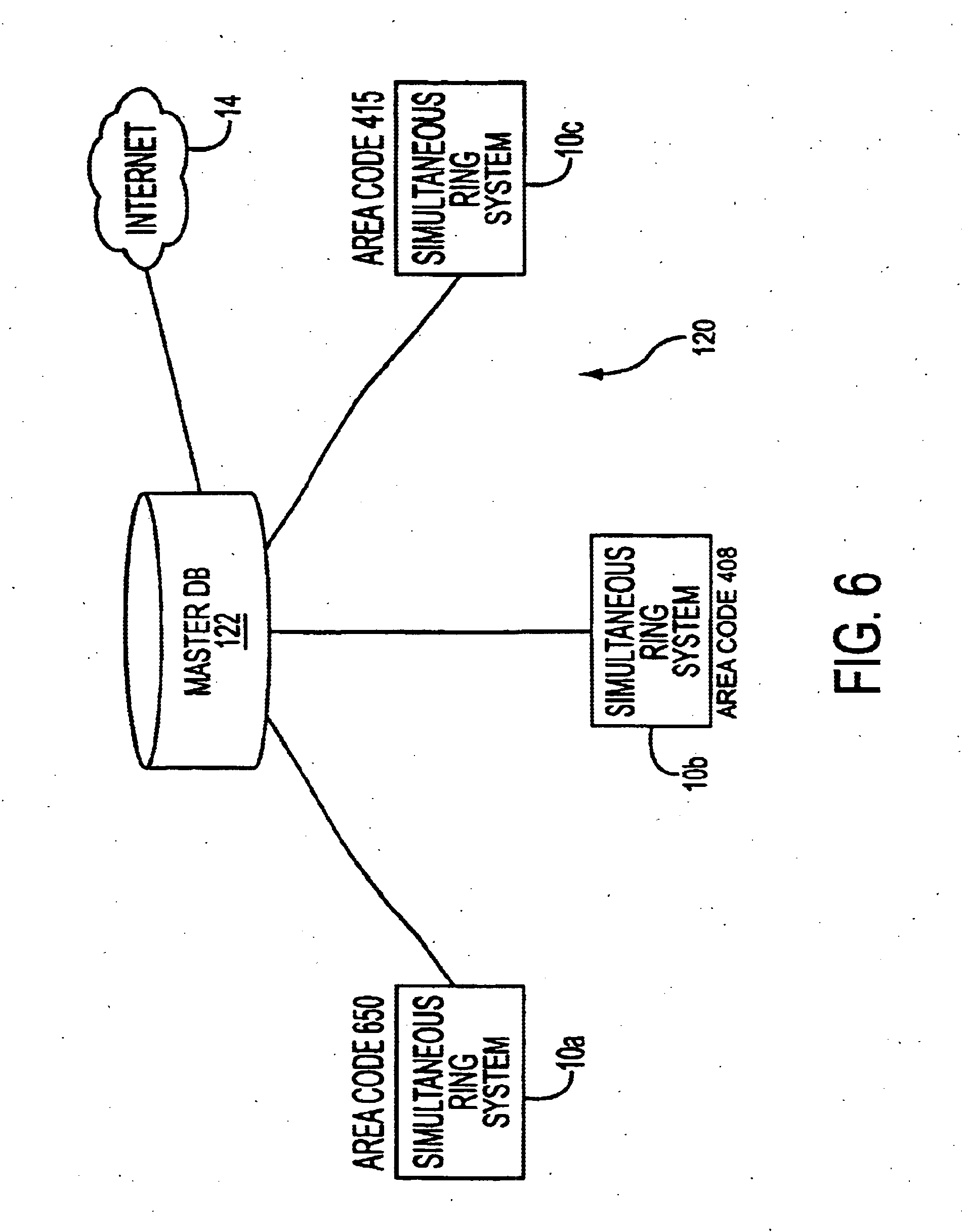 Patent US6697478 - Simultaneous telephone ring apparatus and method ...