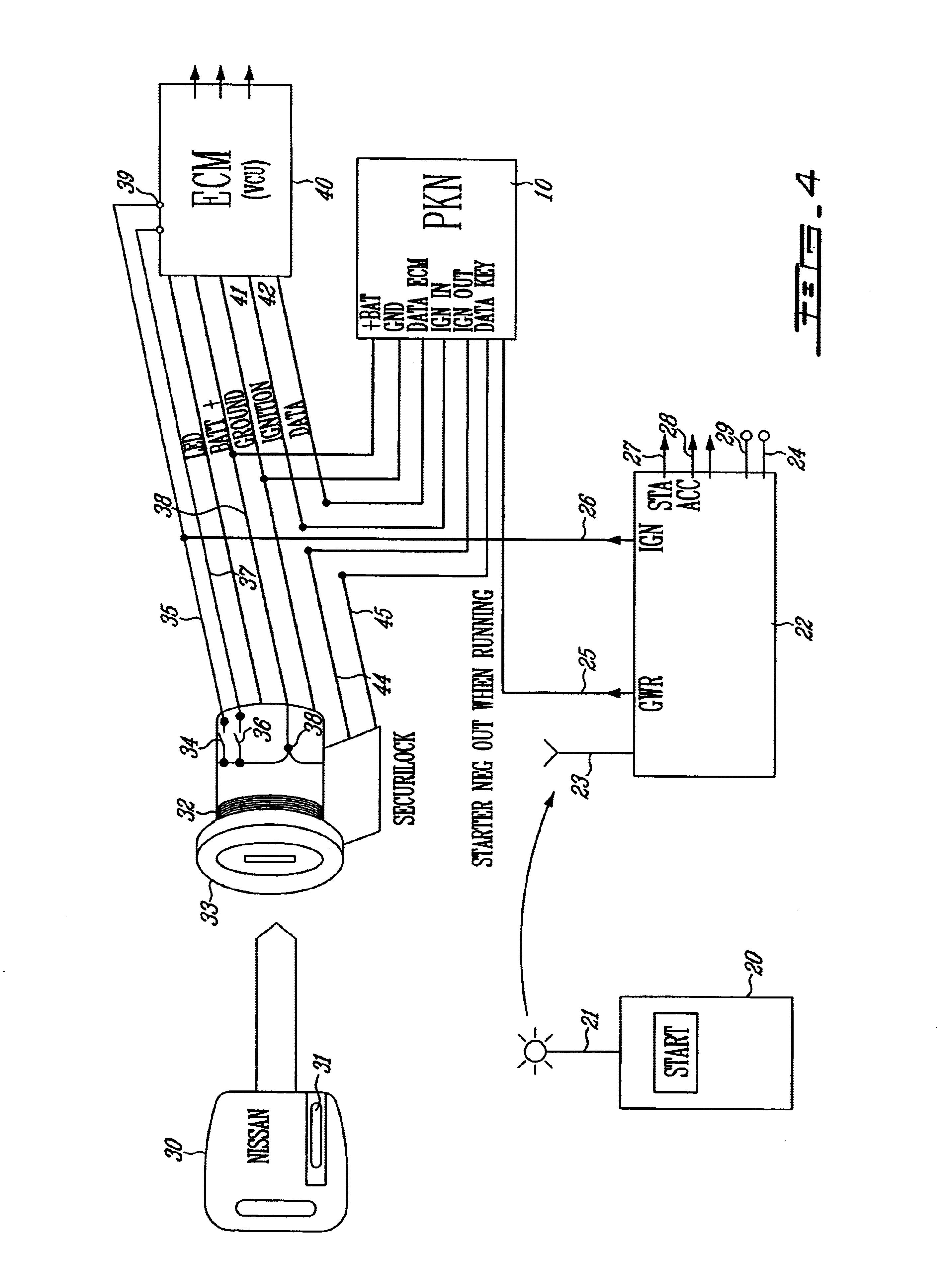 Patent Drawing  sc 1 st  Google : passkey 3 wiring diagram - yogabreezes.com