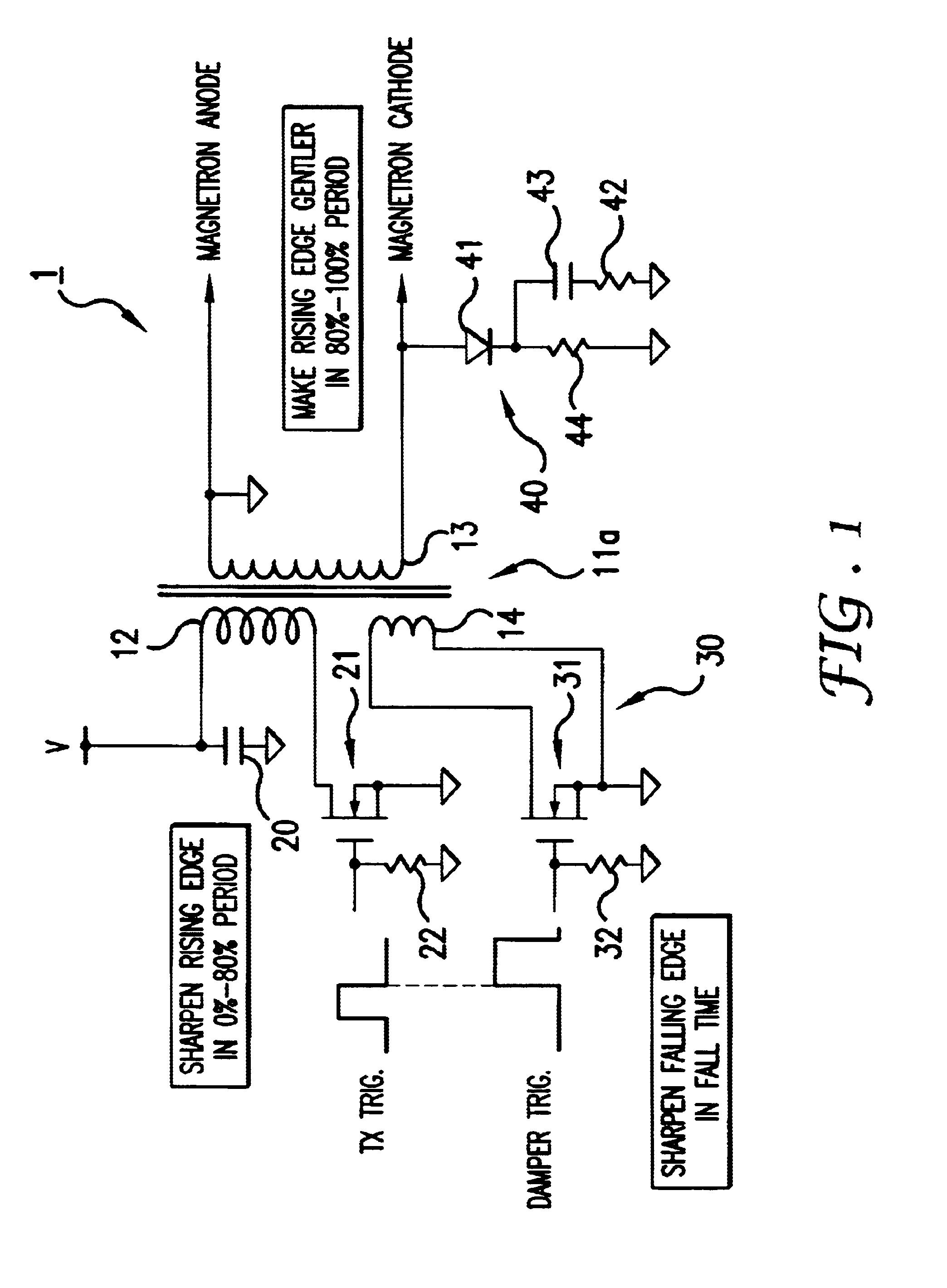 patent us6700532 - magnetron drive circuit