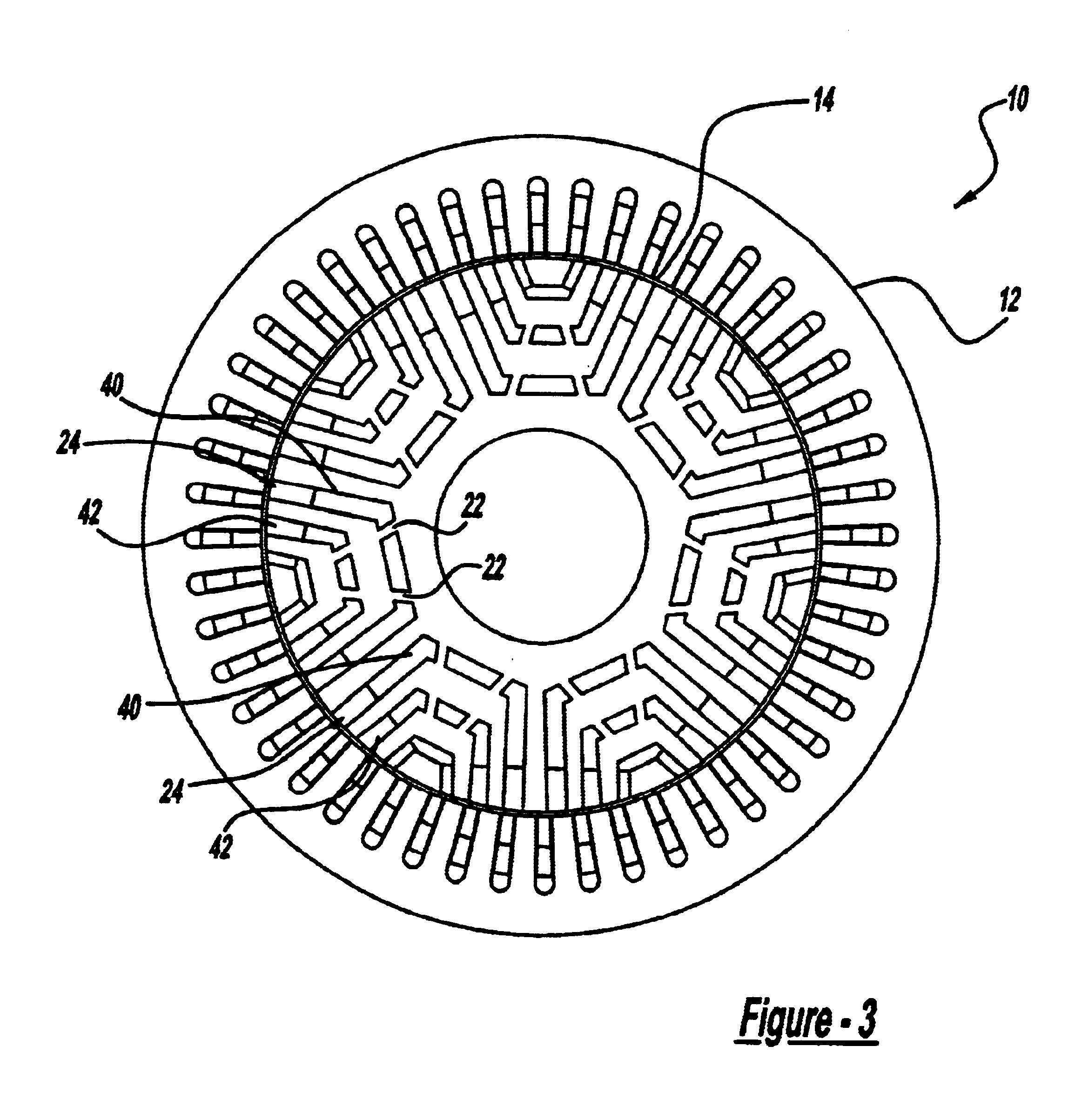 Patent Us6703746 Interior Permanent Magnet Rotor Google Patents