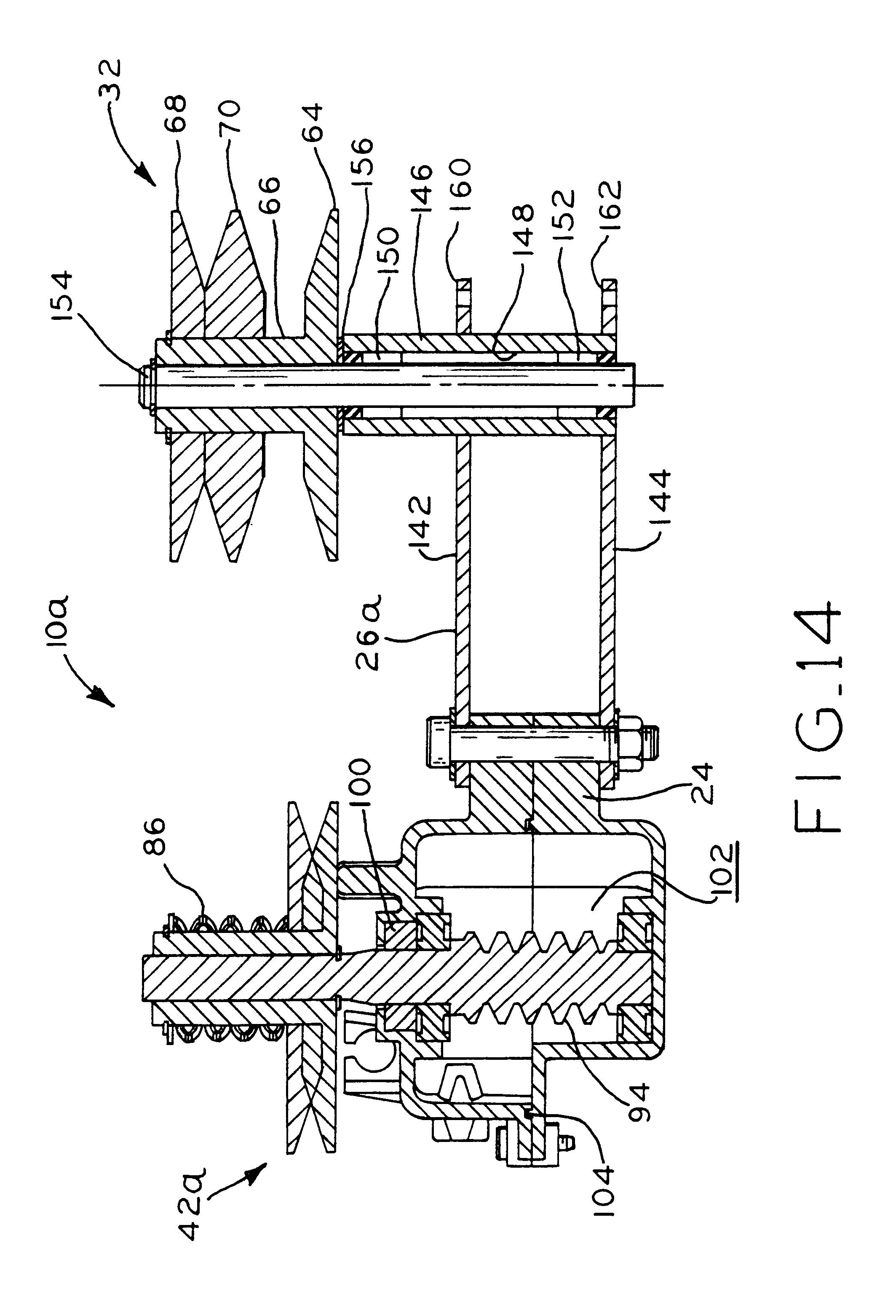 variable belt drive transmission