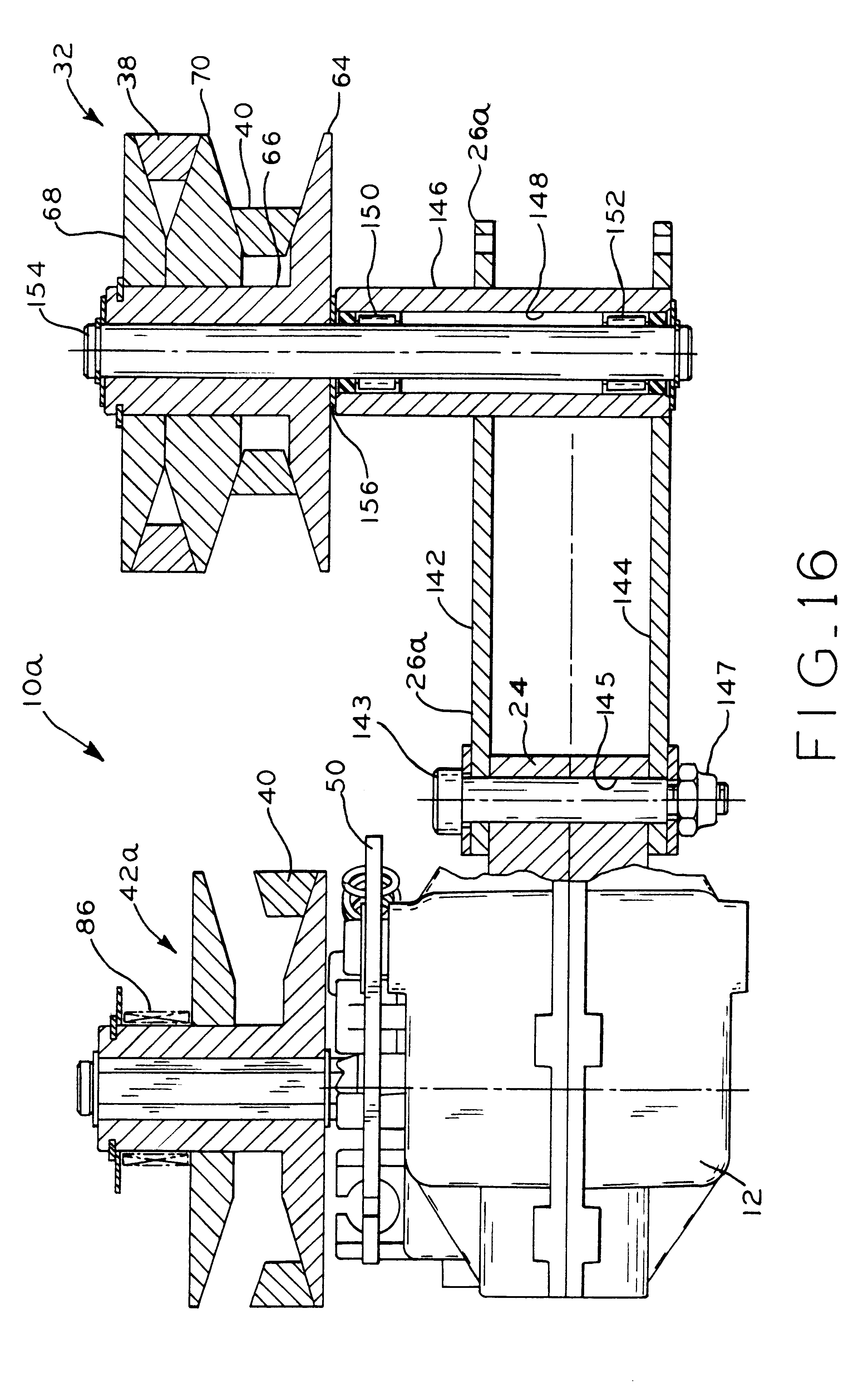 patent us6705961 - variable speed transmission and electronic speed control therefor