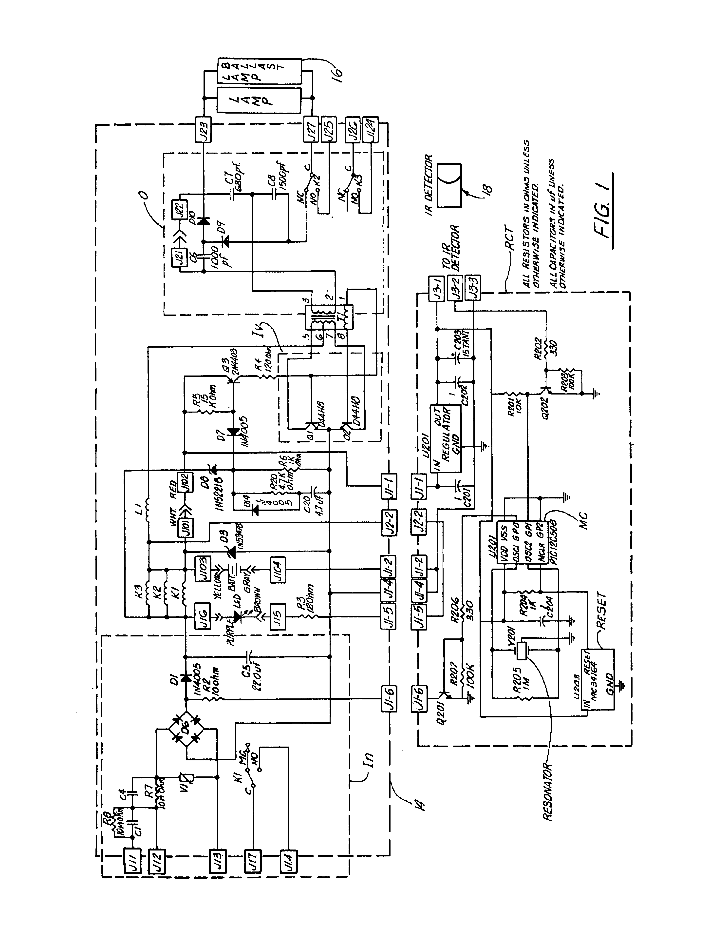beam detector wiring diagram with Us6710546 on US6392349 as well Engineeronadisk 58 likewise Gas Detection Systems in addition Infrared Beam Barrier Proximity Sensor Circuit besides Smoke detector.