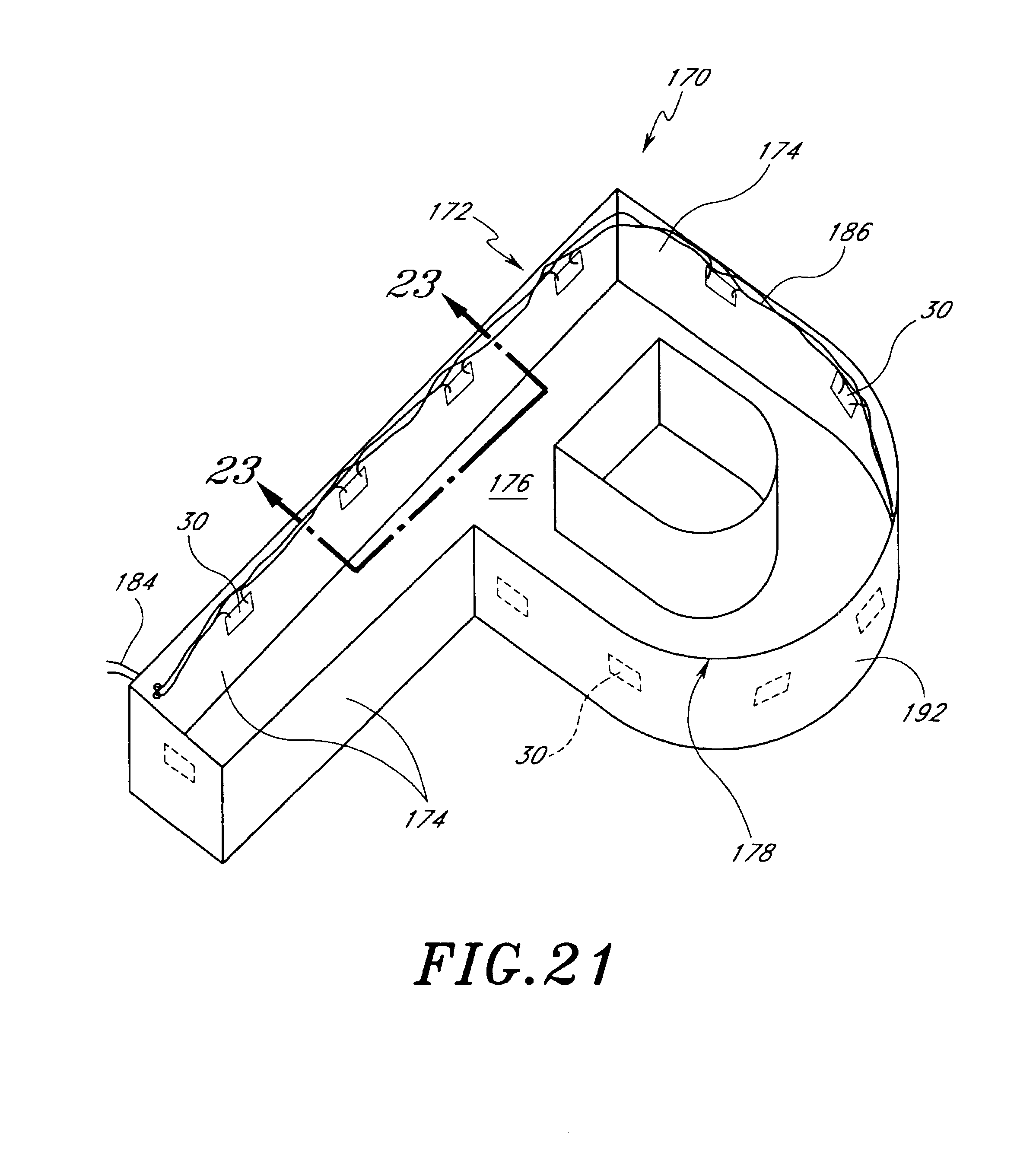 patent us6712486 - mounting arrangement for light emitting diodes