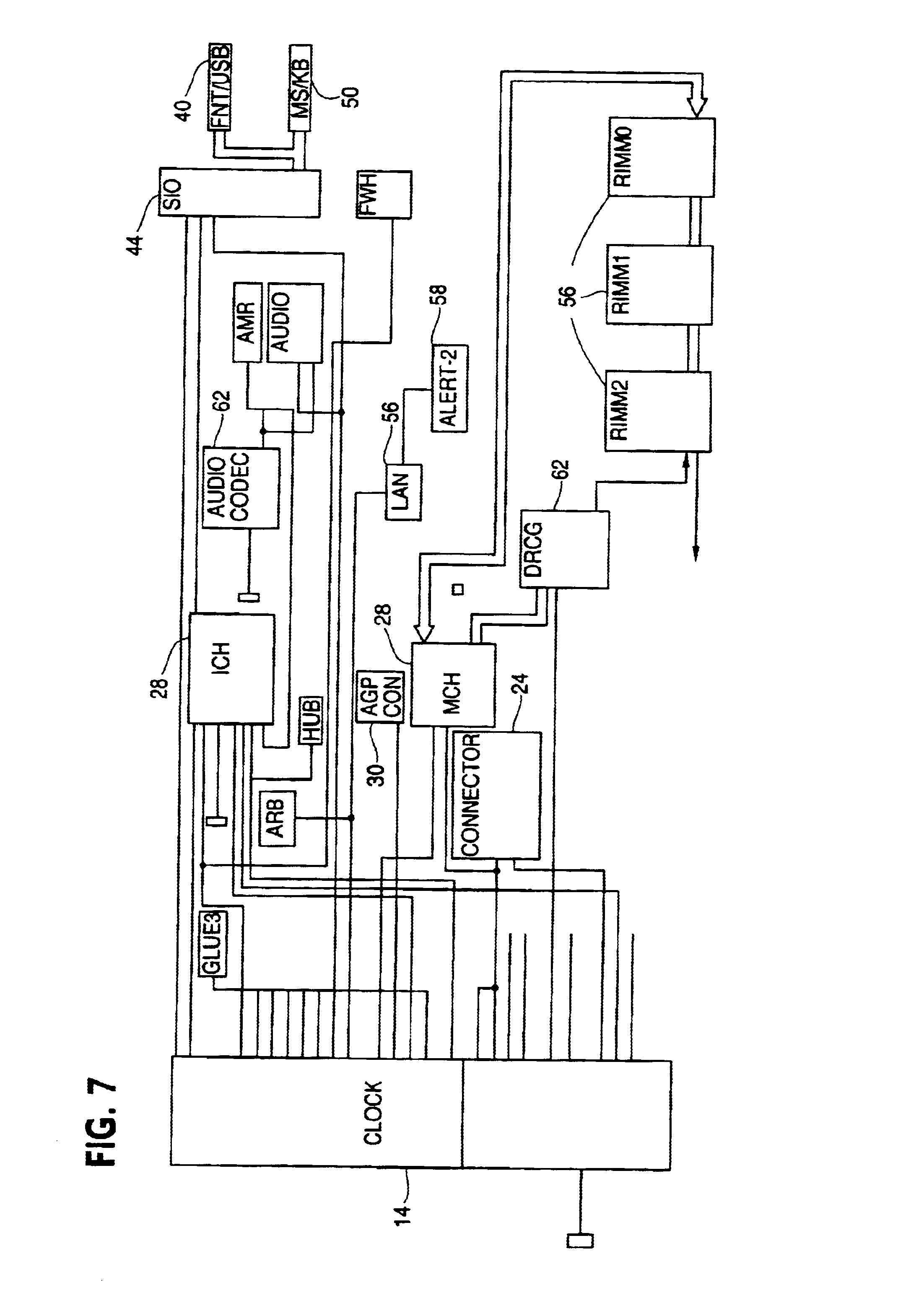 Patent Us6714092 Supply Noise Filter For Clock Generator Google Other Circuits Gt Keypad Combination Lock Circuit Drawing
