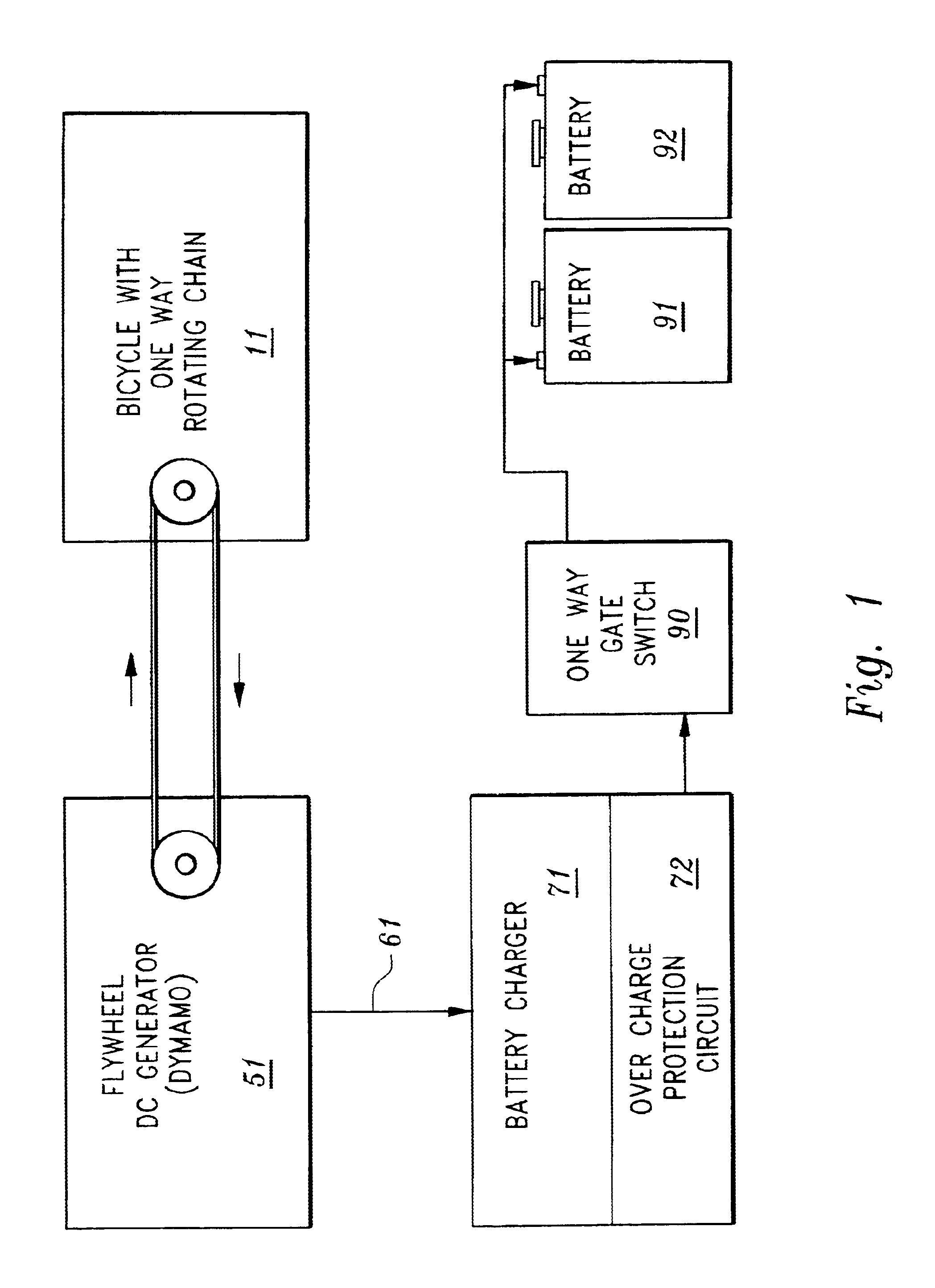 Patent us6717280 bicycle based emergency battery charging system patent drawing asfbconference2016 Image collections