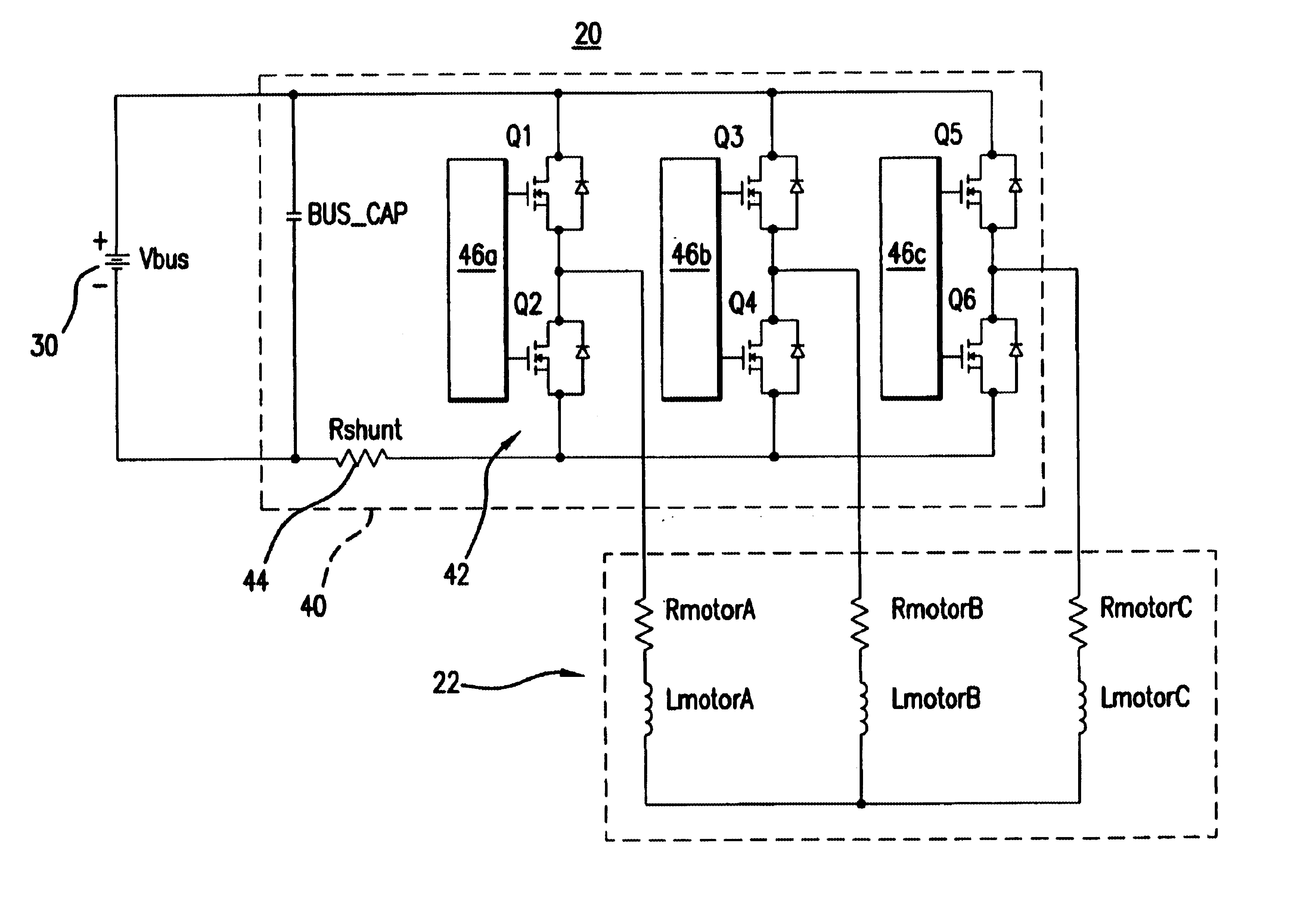 Patent Us6718125 Bldc Motor Noise Reduction Using Constant Bus Brushless Controller Circuit Electronic Drawing