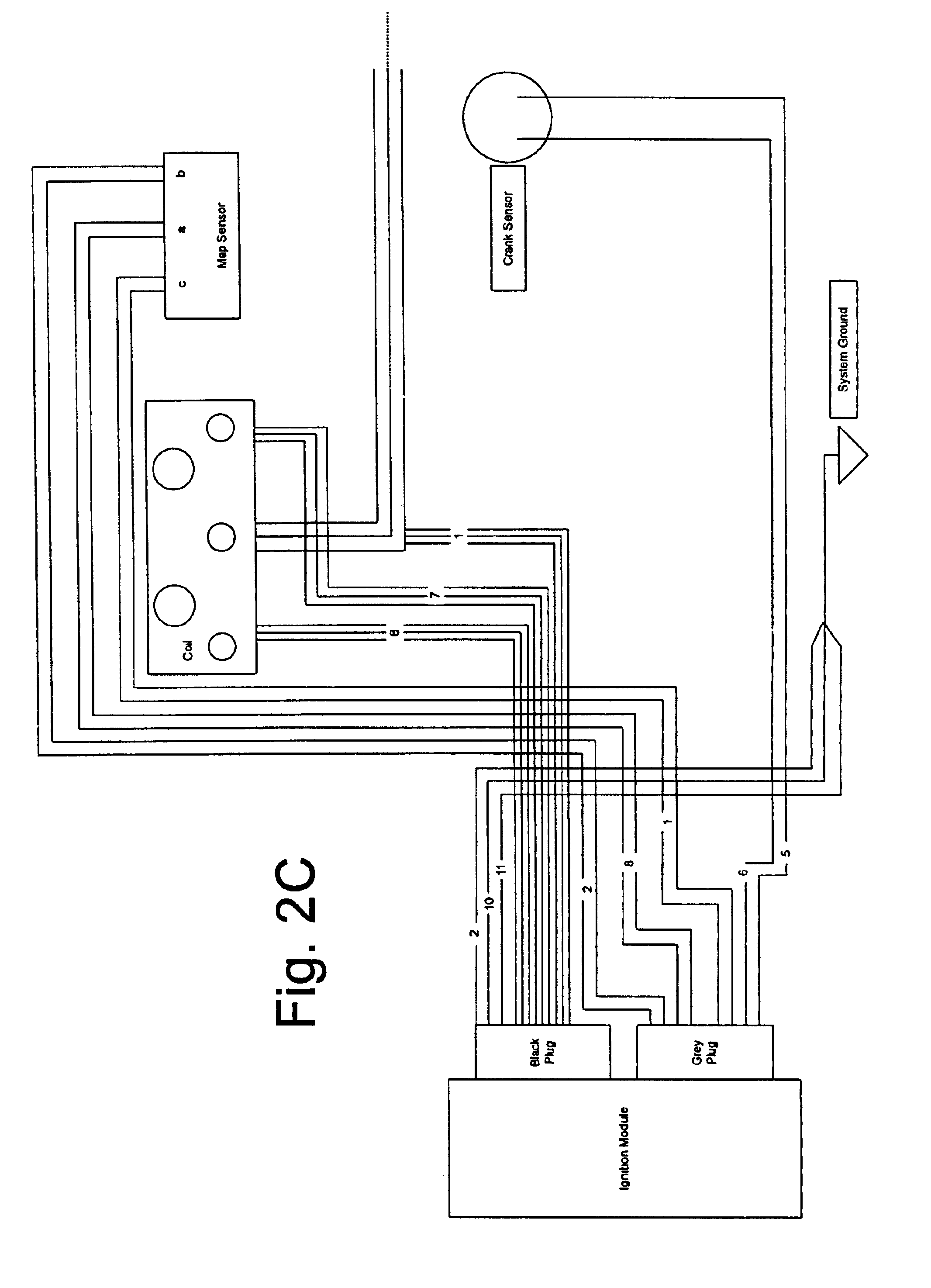 patent us6720672 - motorcycle wiring harness