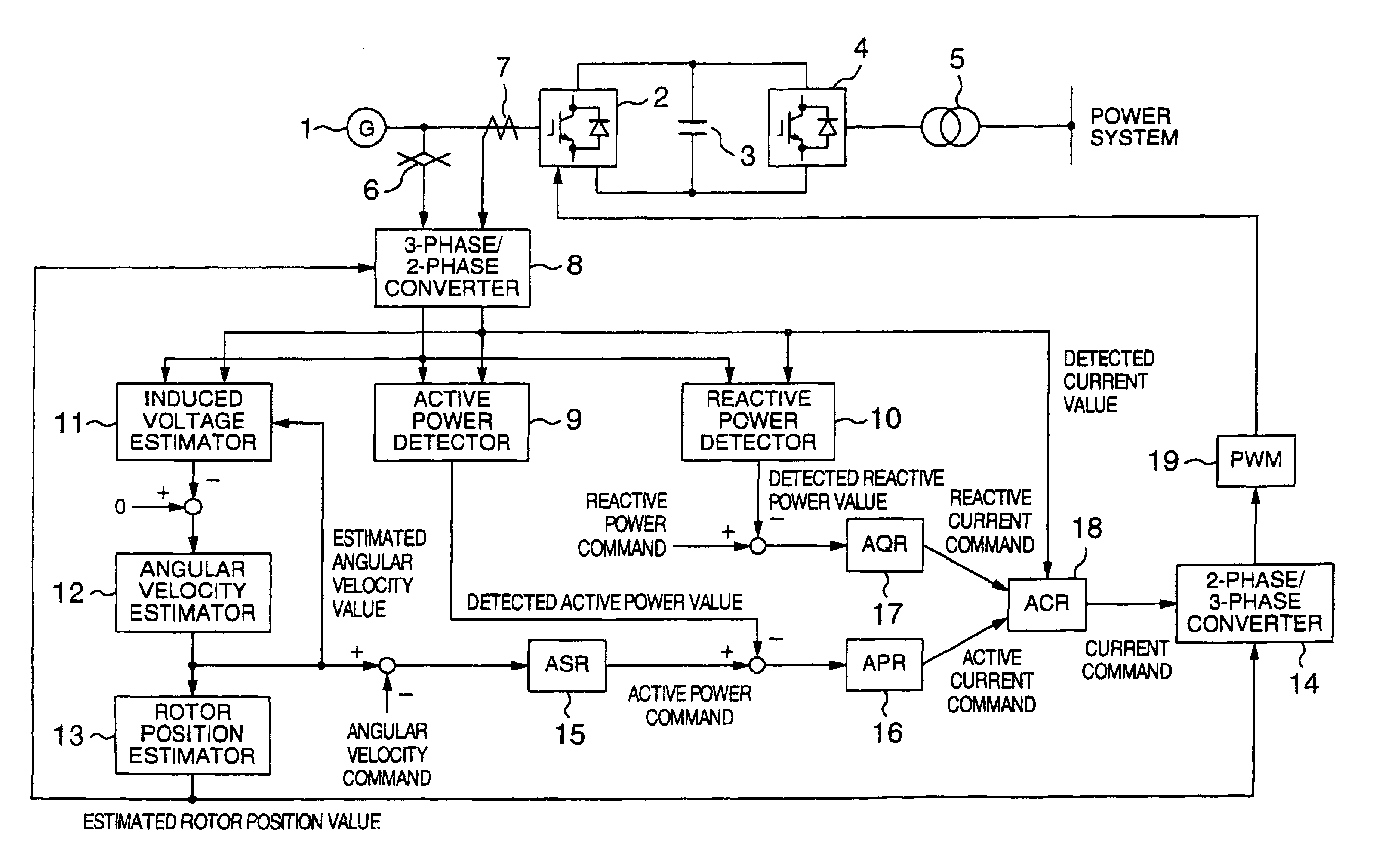 Patent Us6720753 Power Generation System Using Synchronous Detector Circuit Drawing