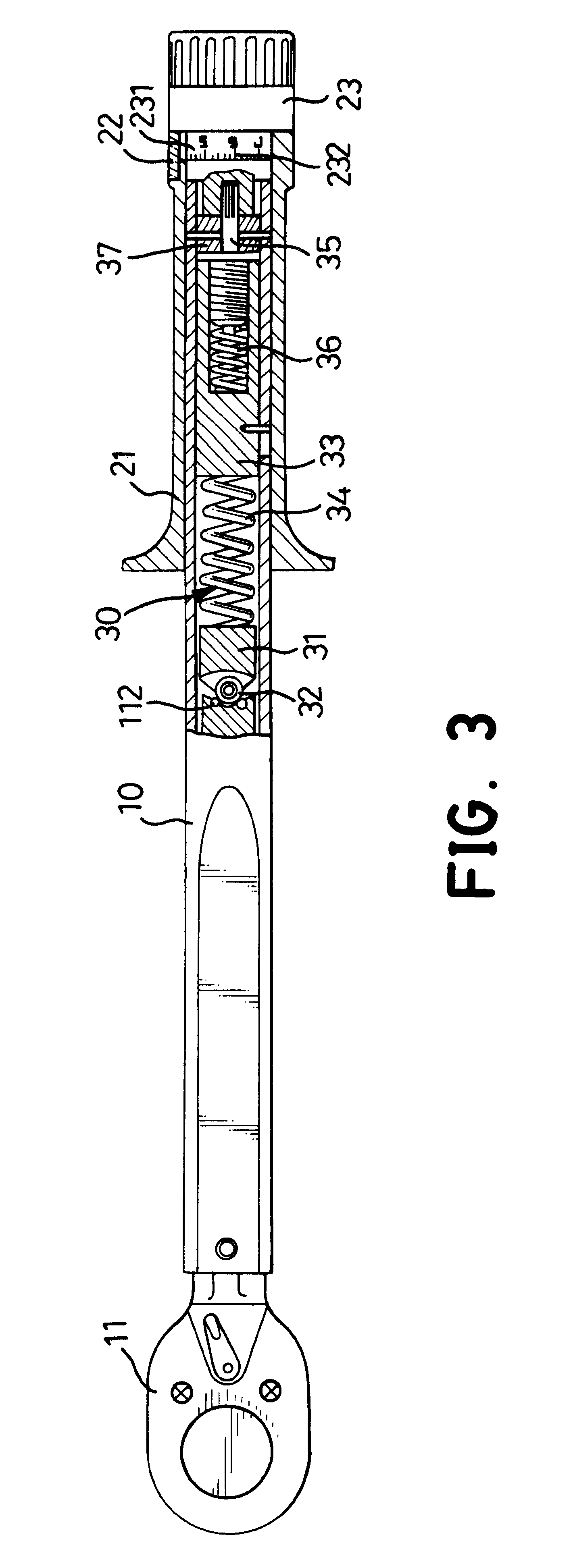 Patent Us6722235 - Torque Wrench With A Scale