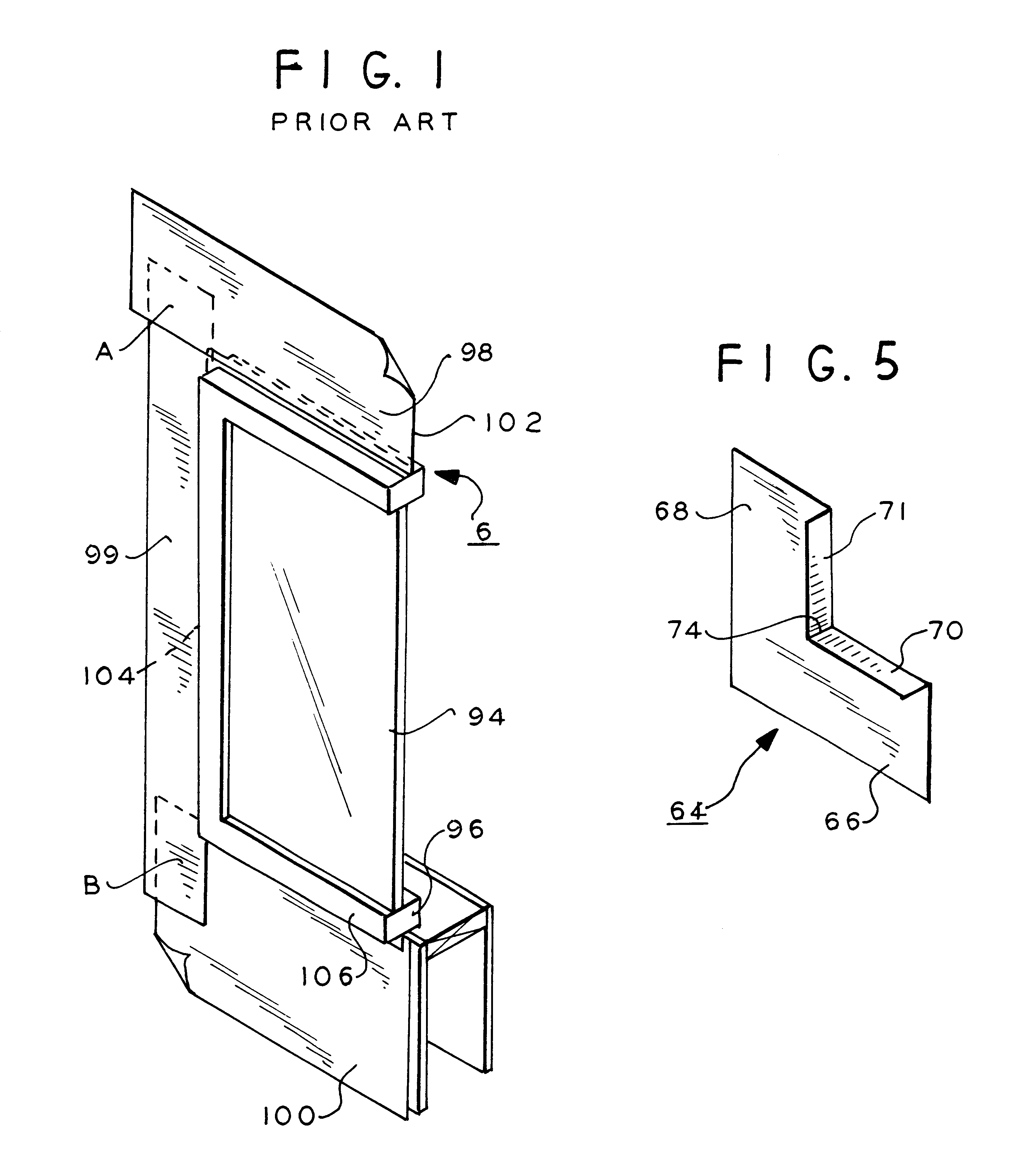 How to install window flashing tape - Patent Drawing