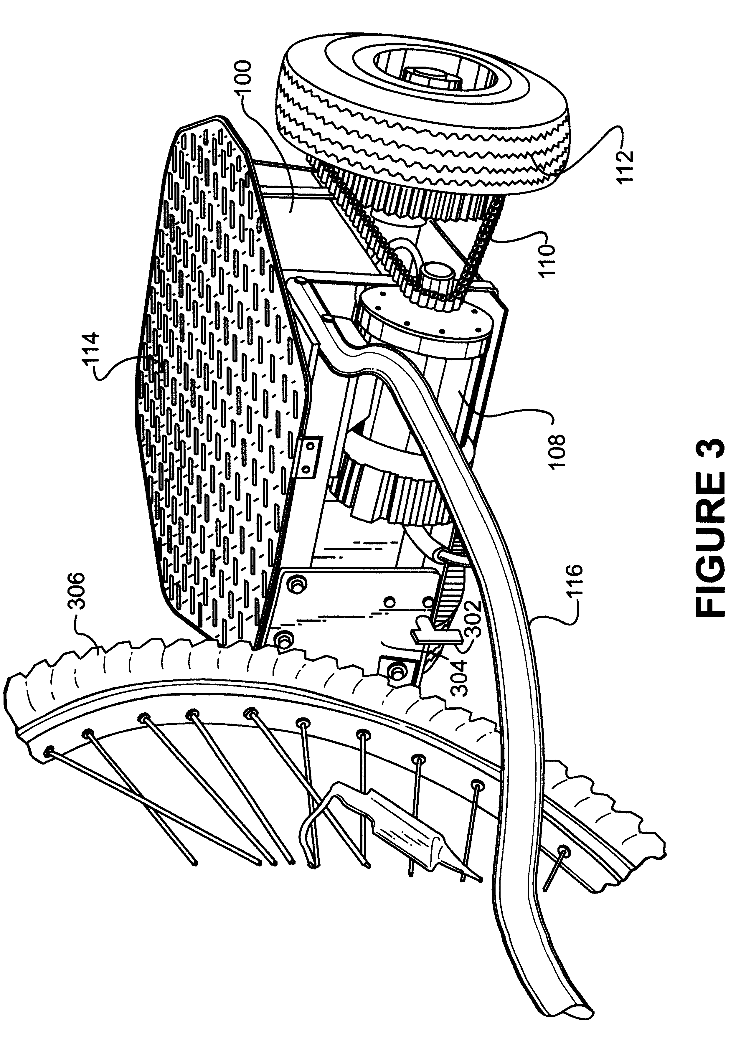 Patent US6725955 - Powered trailer to propel a two wheeled vehicle ...