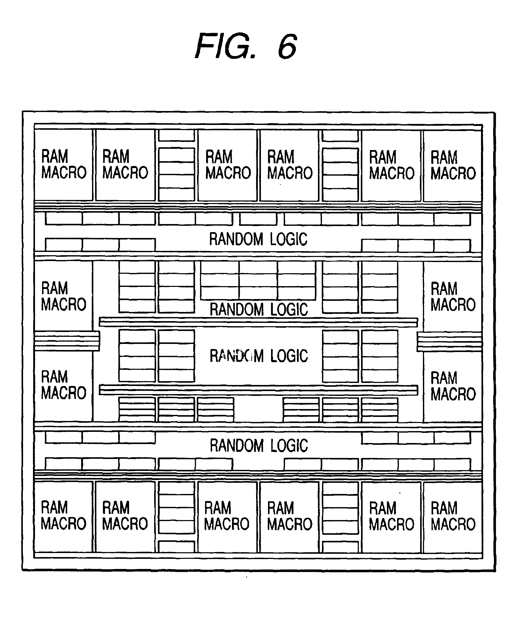 Patente Us6727532 Semiconductor Integrated Circuit Device Google Logic Diagram 4 X 3 Memory Patent Drawing