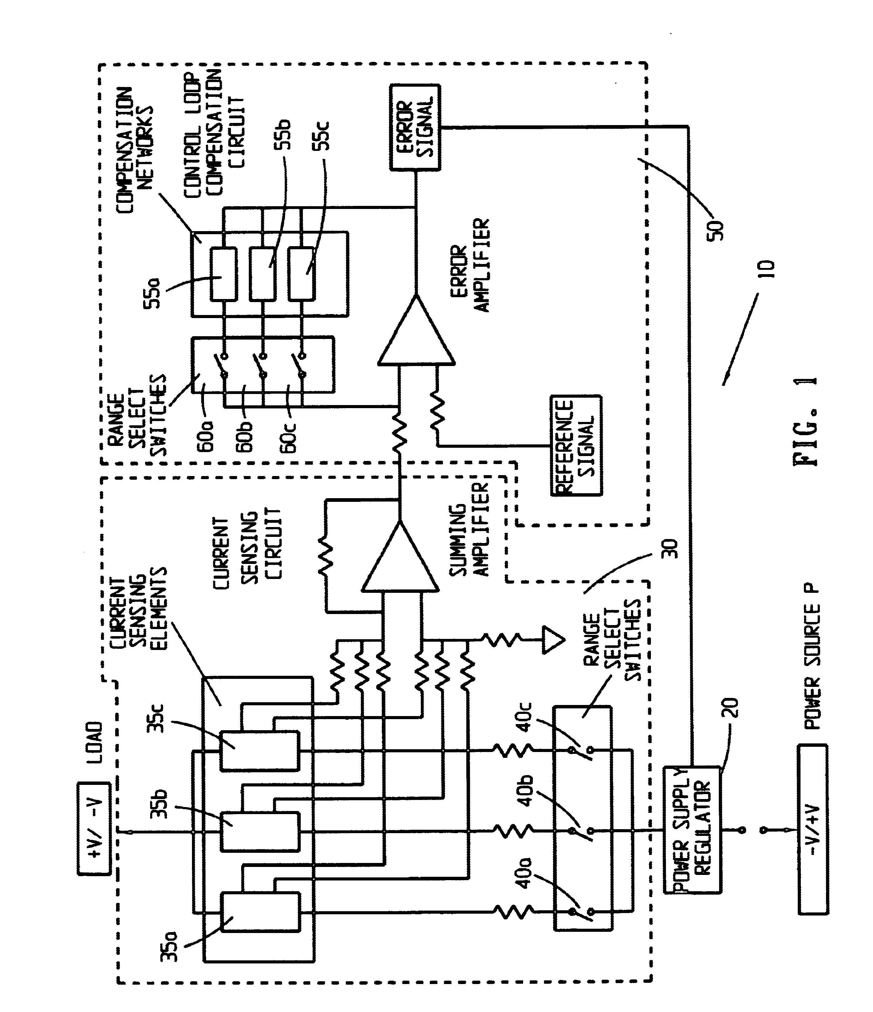 Patent Us6727680 Extended Range Power Supply System Google Patents Current Detector Circuit Drawing