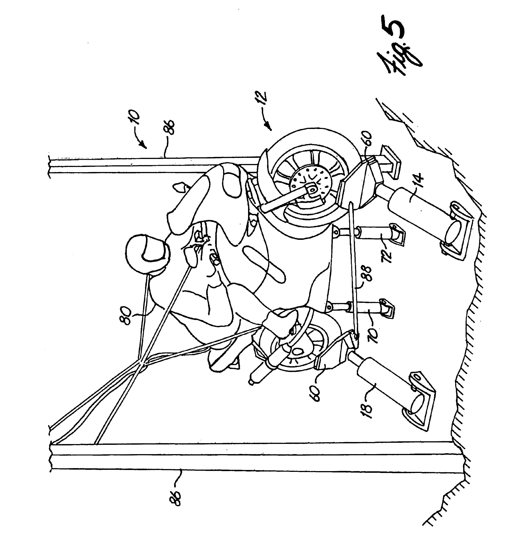patent us6733294 - motorcycle cornering simulator