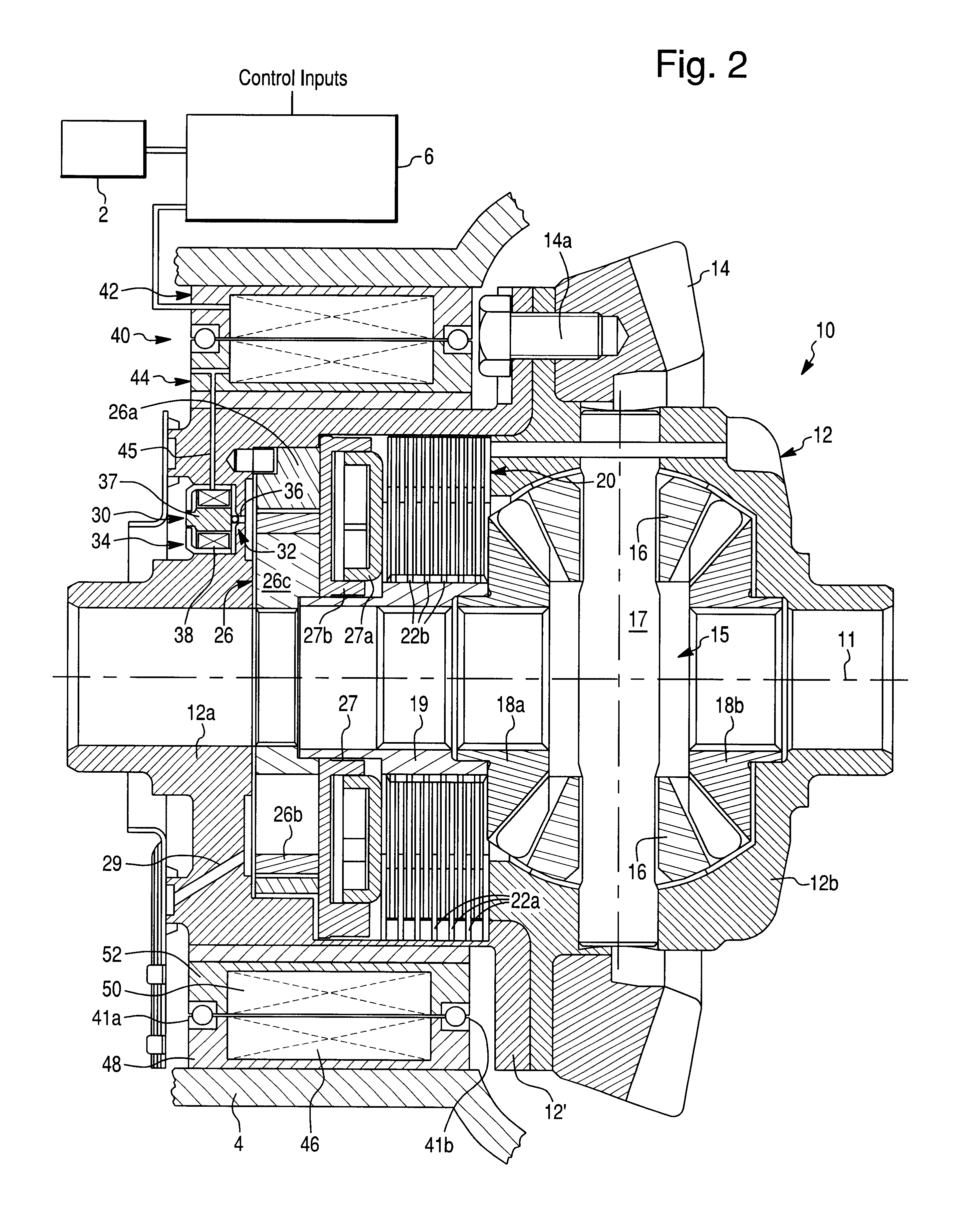 Patent US6733411 - Electronically controlled hydraulic actuator ...