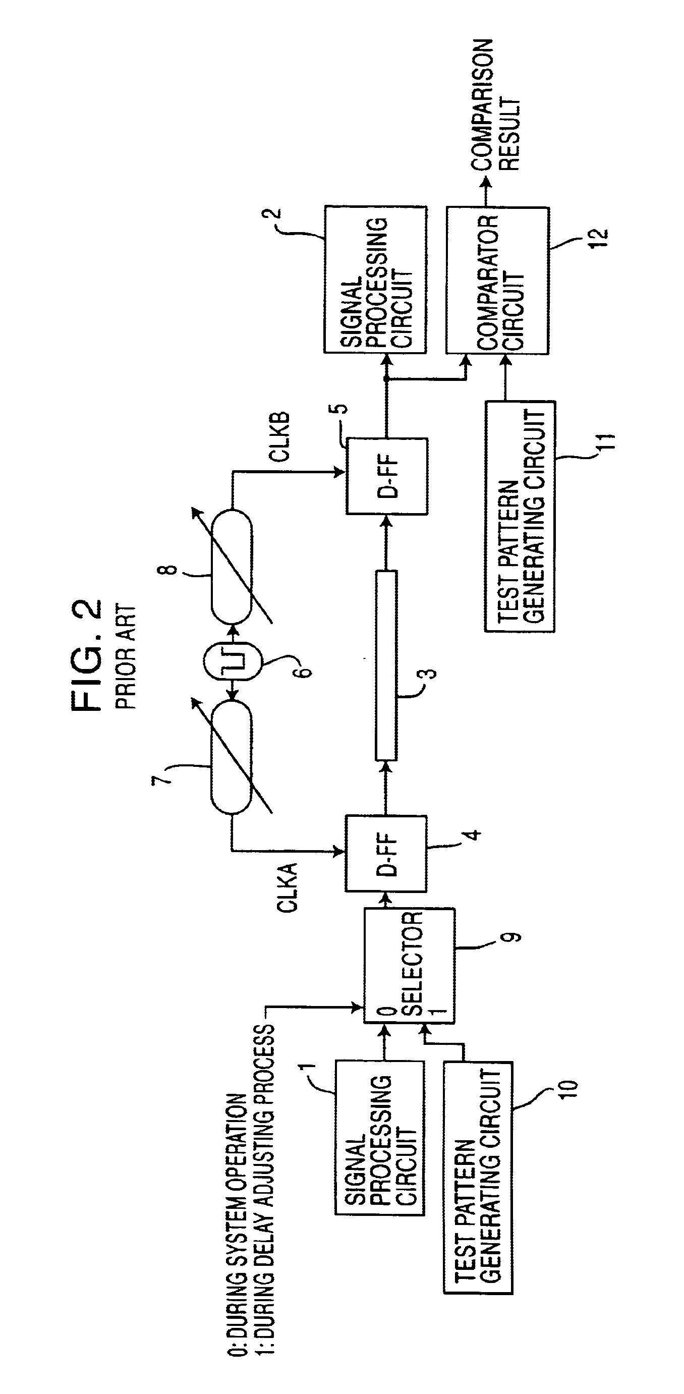 Patente Us6735732 Clock Adjusting Method And Circuit Device D Ff Diagram Patent Drawing