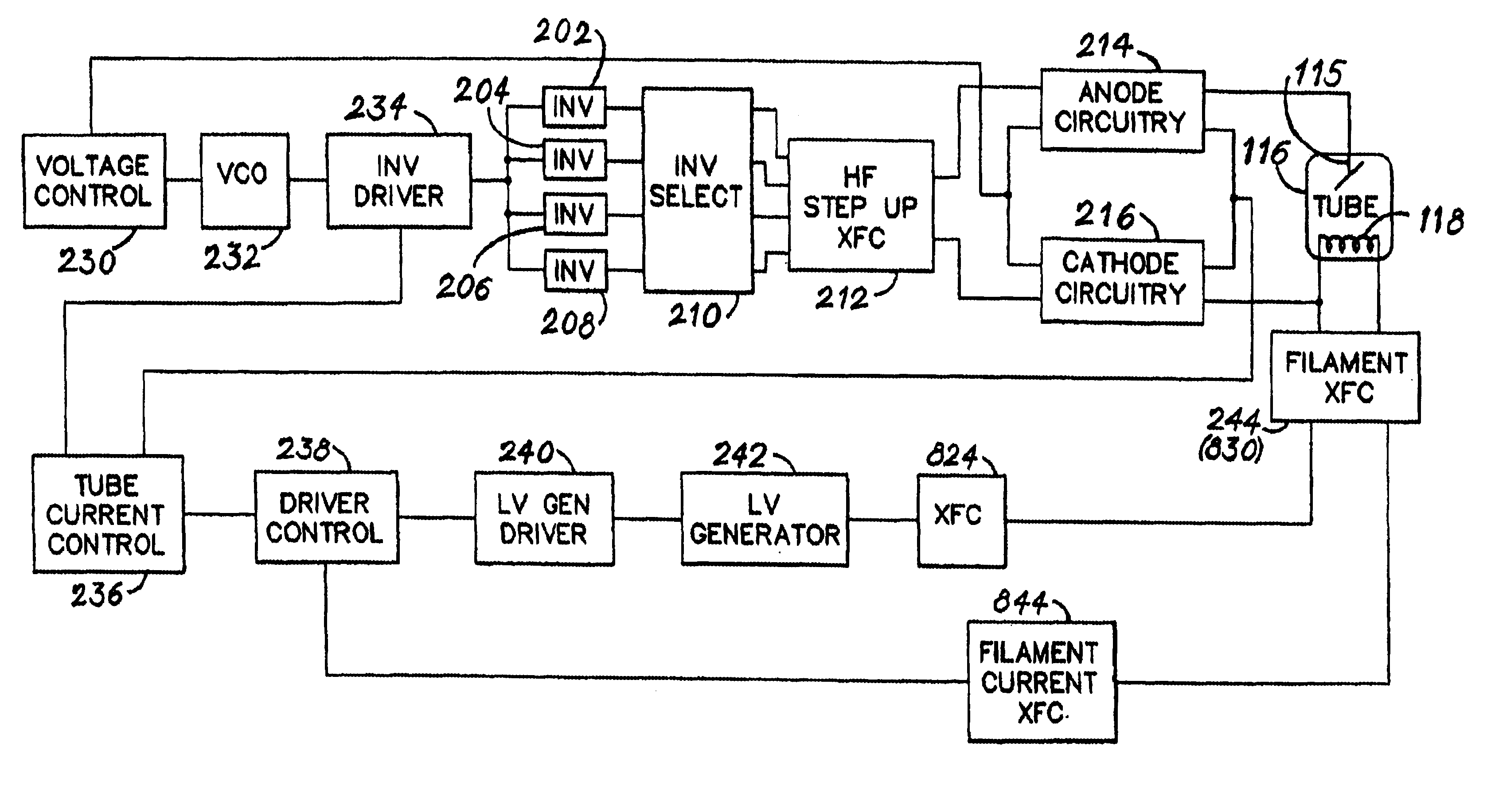 patent us6738275 - high-voltage x-ray generator