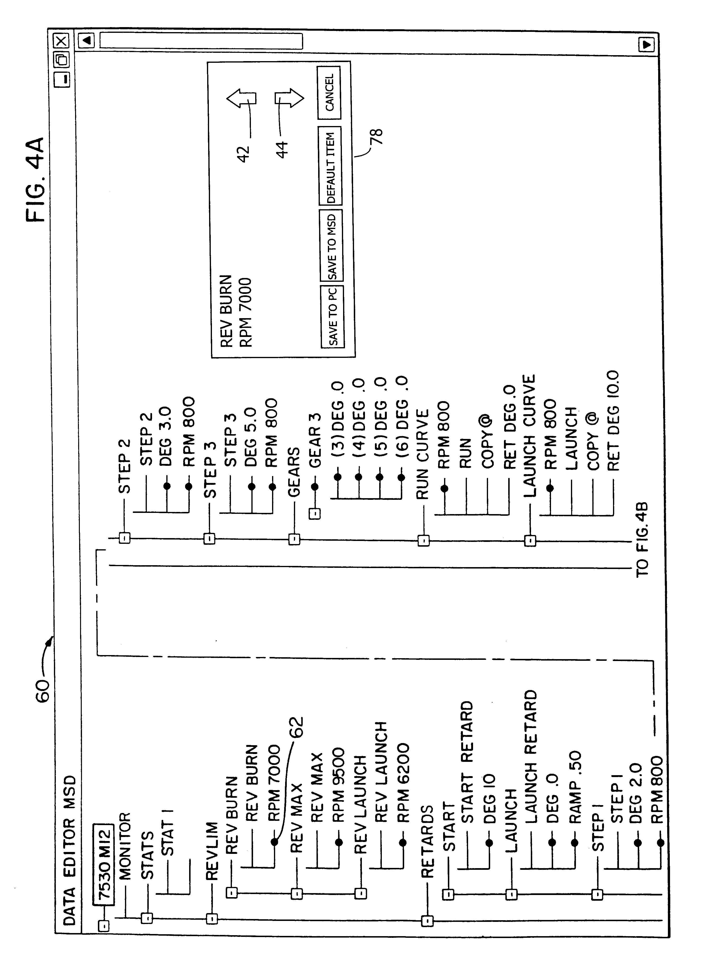 Patent Us6741925 User Interface For Electronic Controller And Msd Timing Retard Wiring Diagram Drawing