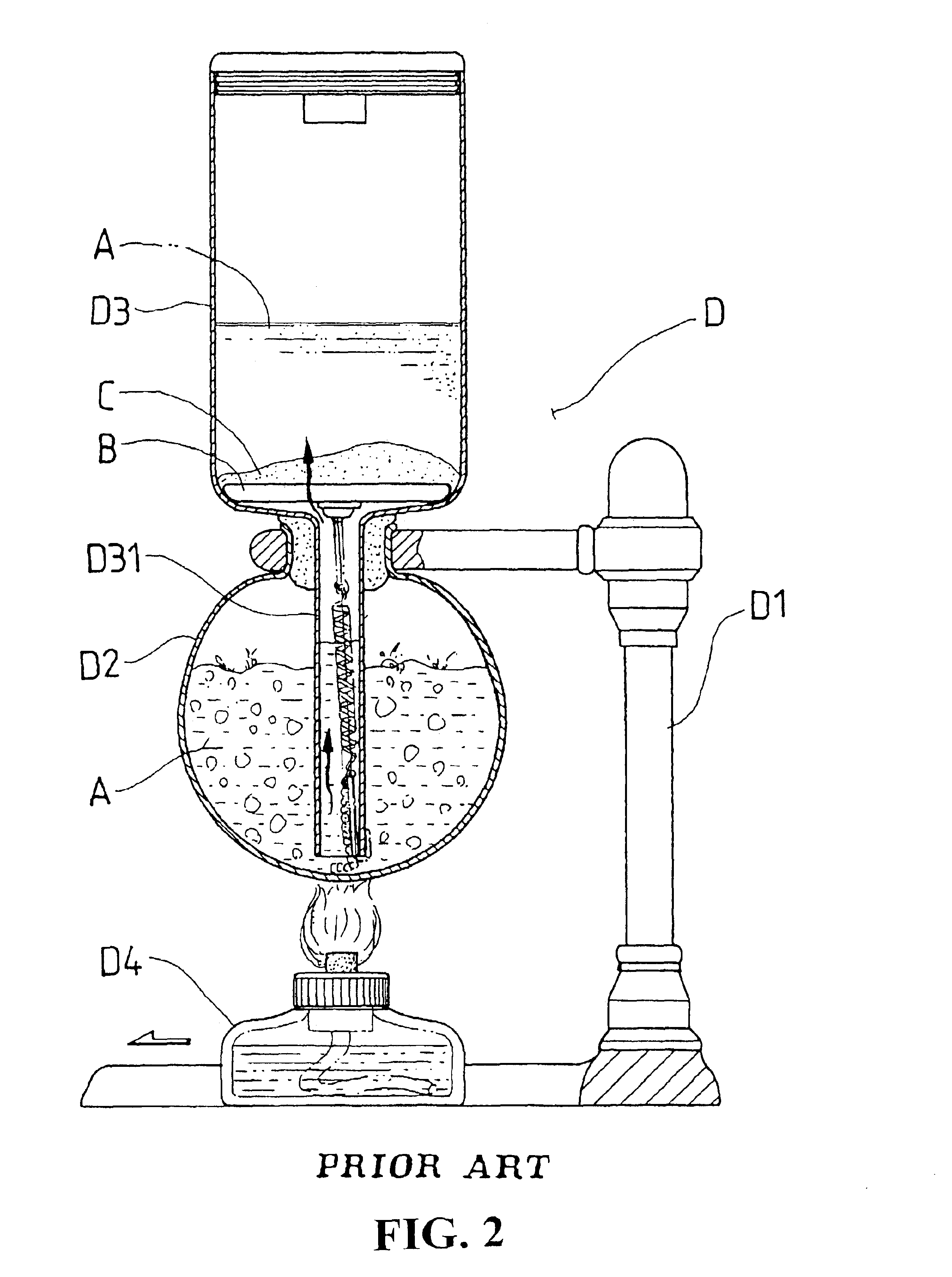 Patent US6742442 - Coffee maker structure - Google Patents