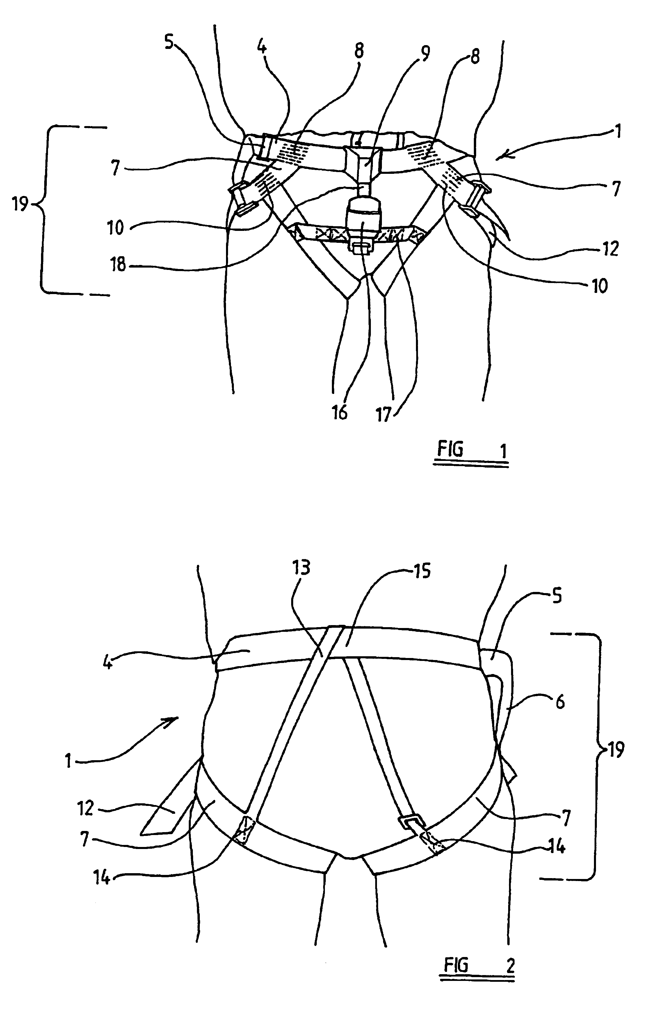 patent us6742848 - harnesses and inertia reels