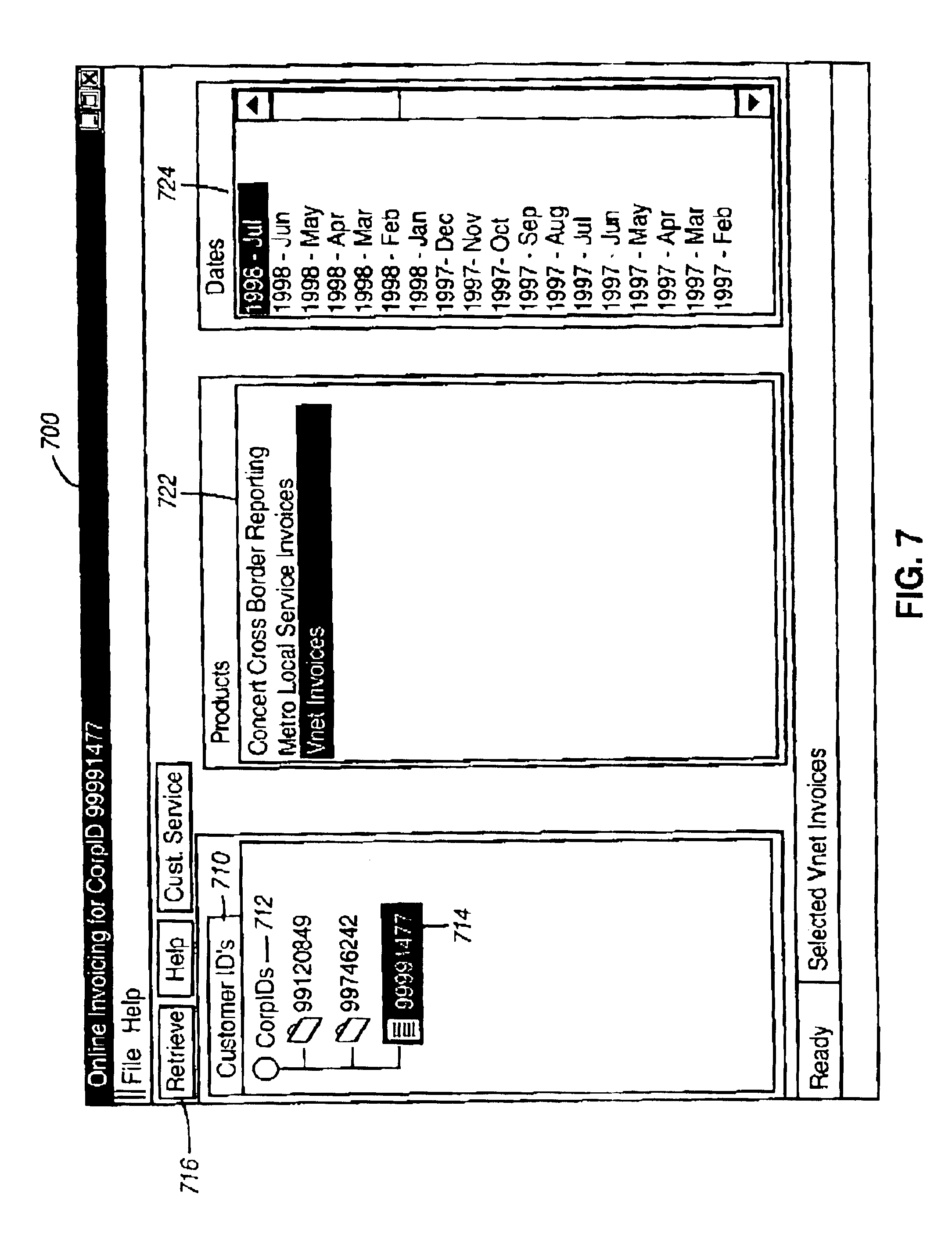 Pos Receipt Paper Excel Patent Us  Web Based Integrated Customer Interface For  Lexus Rx 350 Invoice Price with Template Invoice Excel Word Patent Drawing Po Number Invoice Pdf