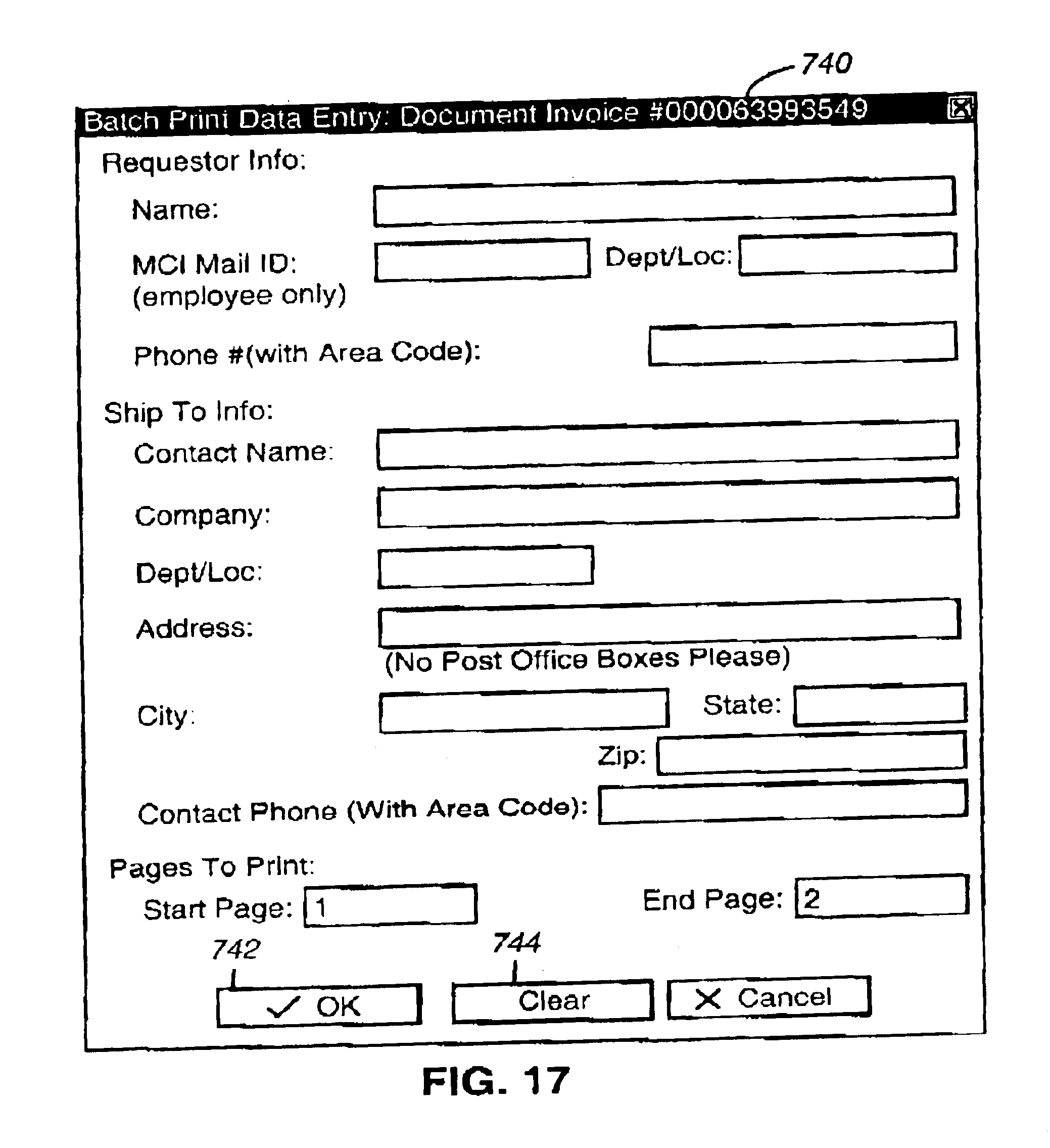 Charitable Donation Receipt Word Patent Us  Web Based Integrated Customer Interface For  Self Employed Invoices Pdf with Sample Receipt For Money Received Word Patent Drawing Irs Gross Receipts Excel