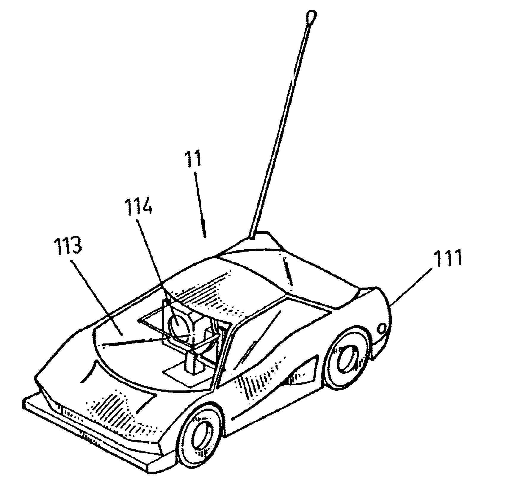 patent us6746304 - remote-control toy car set