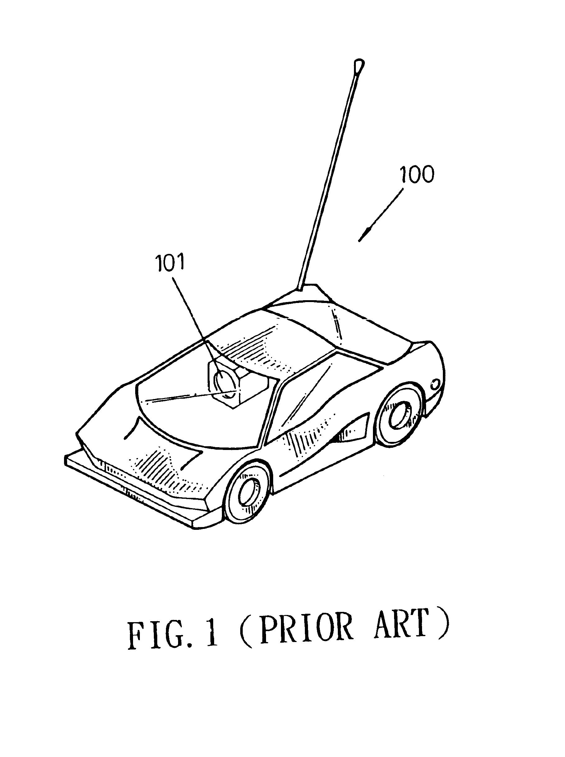 patent us6746304 - remote-control toy car set