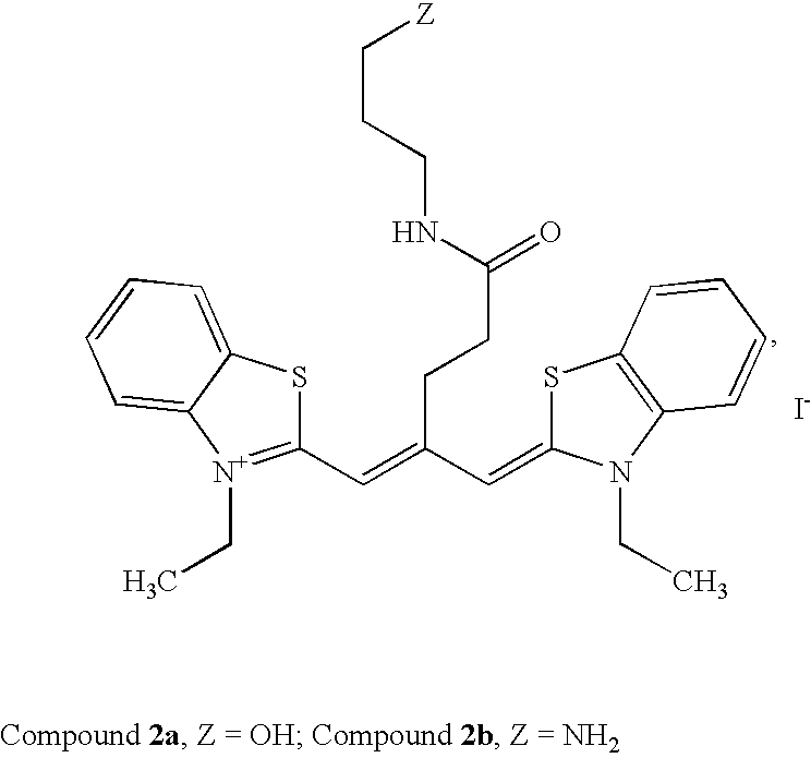 Patent Us6747159 Symmetric Monofunctionalised Polymethine Dyes Labelling Reagents Google