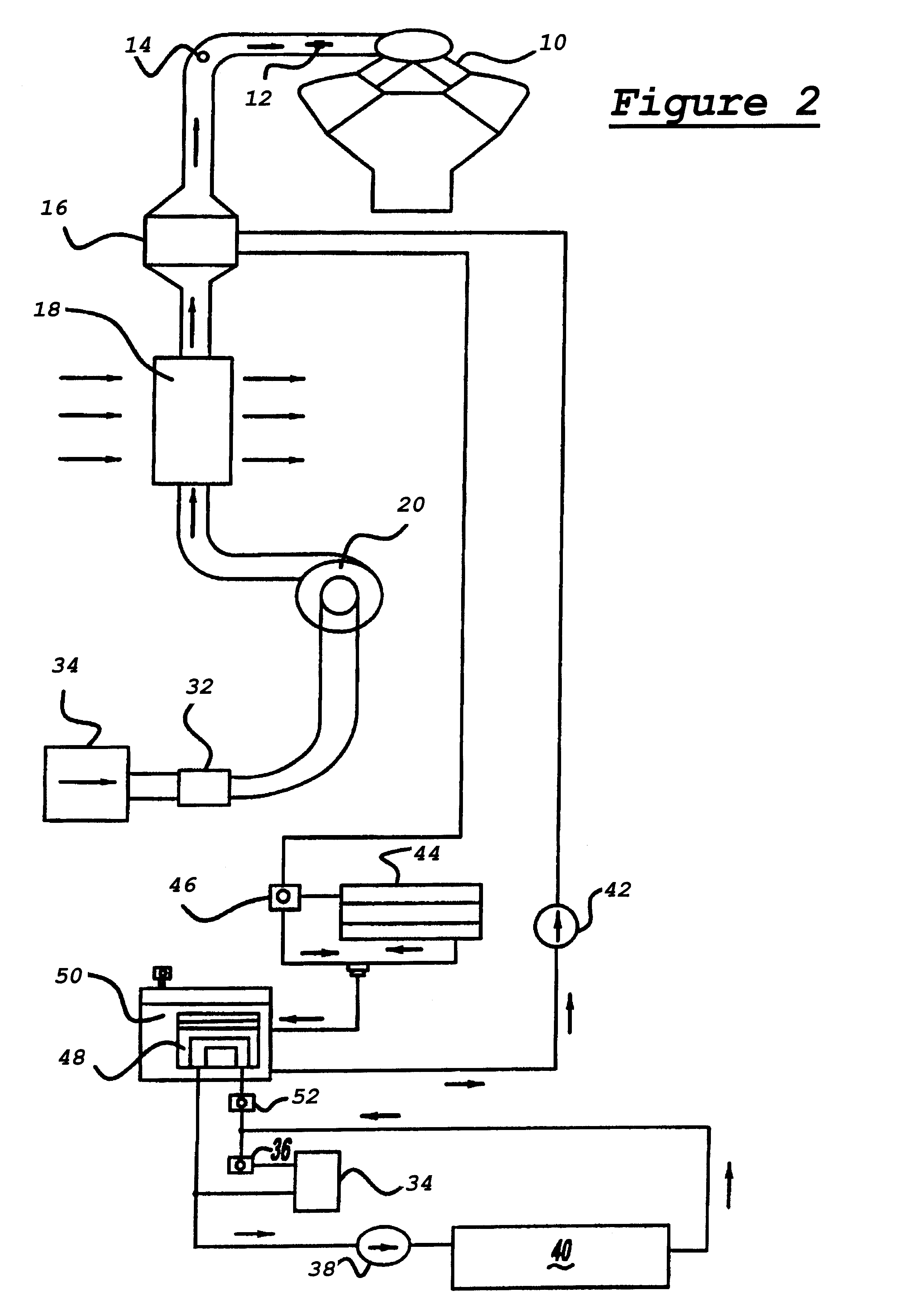 Patent US6748934 Engine charge air conditioning system with multiple  #383838
