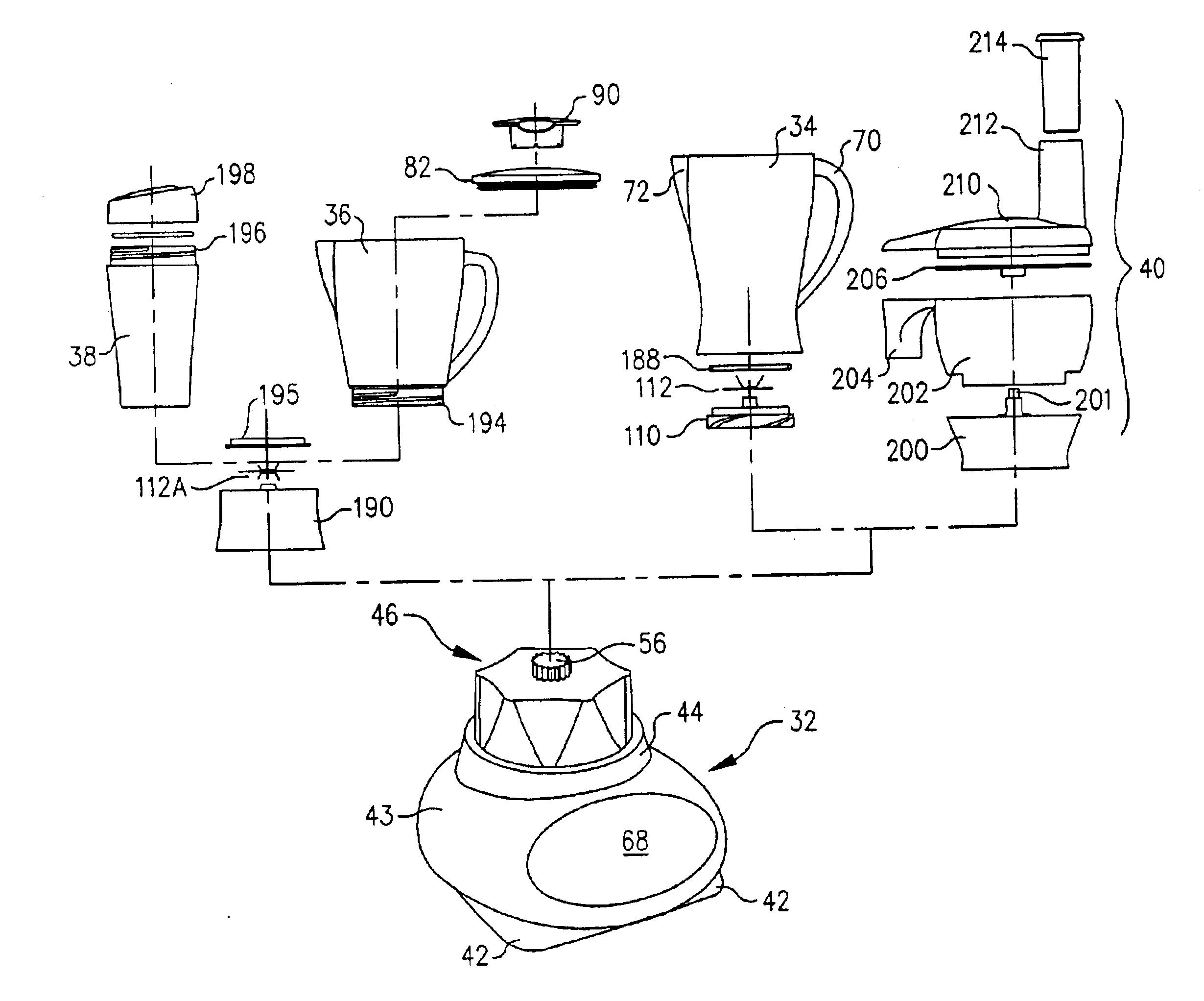 US06758592 20040706 D00000 patent us6758592 blender jar with recipe markings google patents mixer grinder wiring diagram pdf at arjmand.co