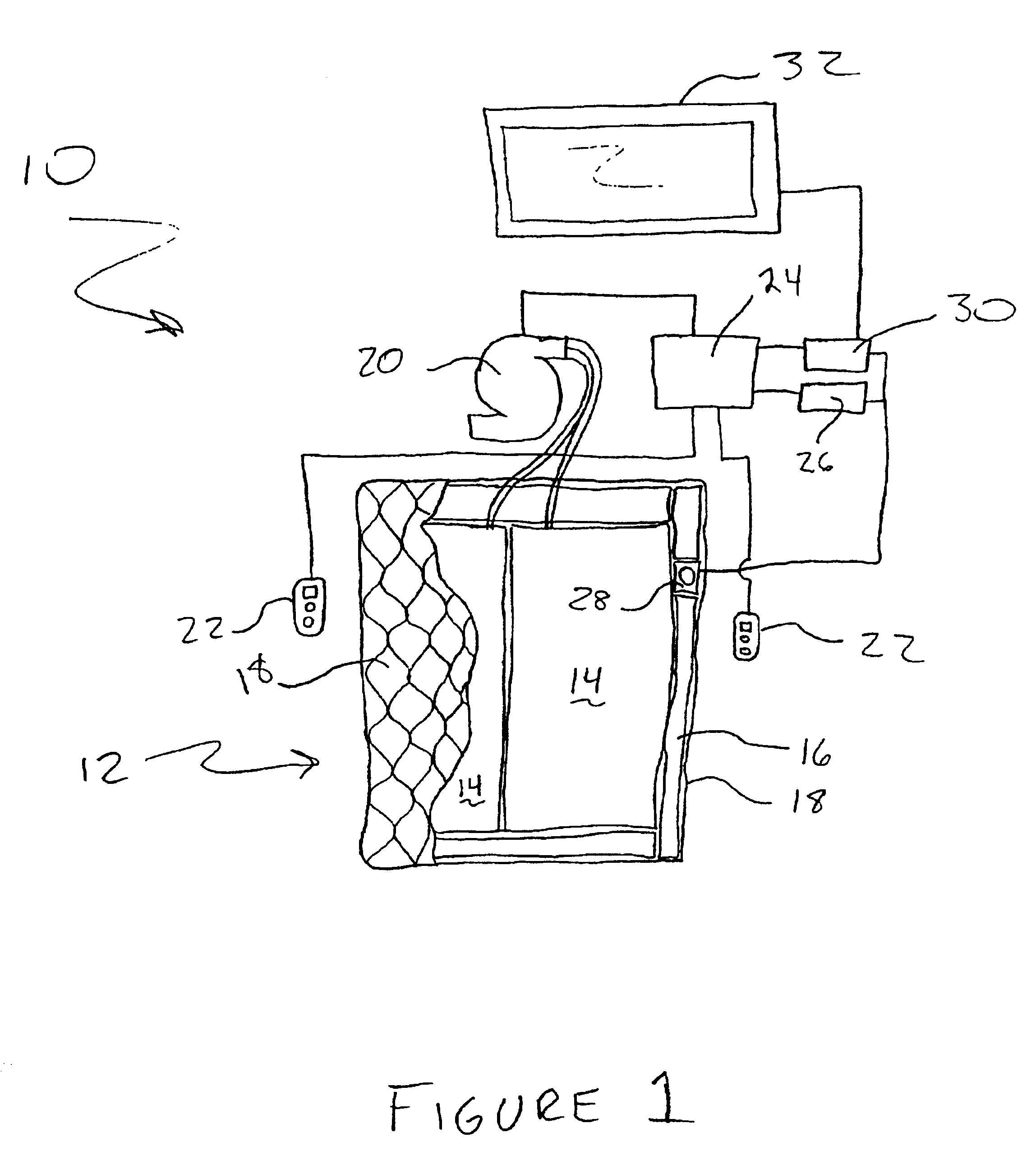 Sleeping bag suit moreover blow up air mattress as well bed inflatable - Patent Drawing