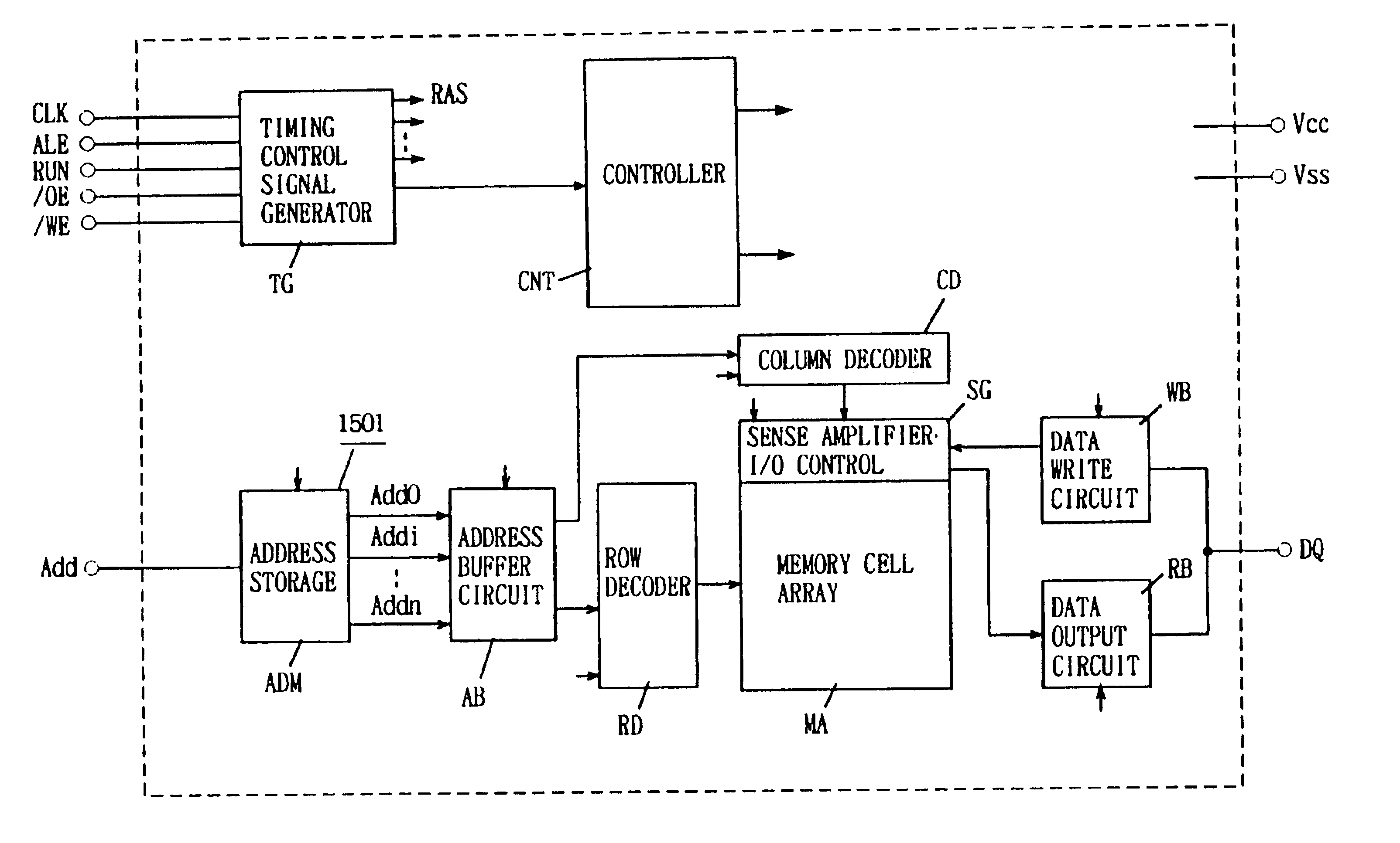 Patent Us6768696 Semiconductor Memory Device In Which Data Are Buffer Circuit Schematic Diagram Drawing