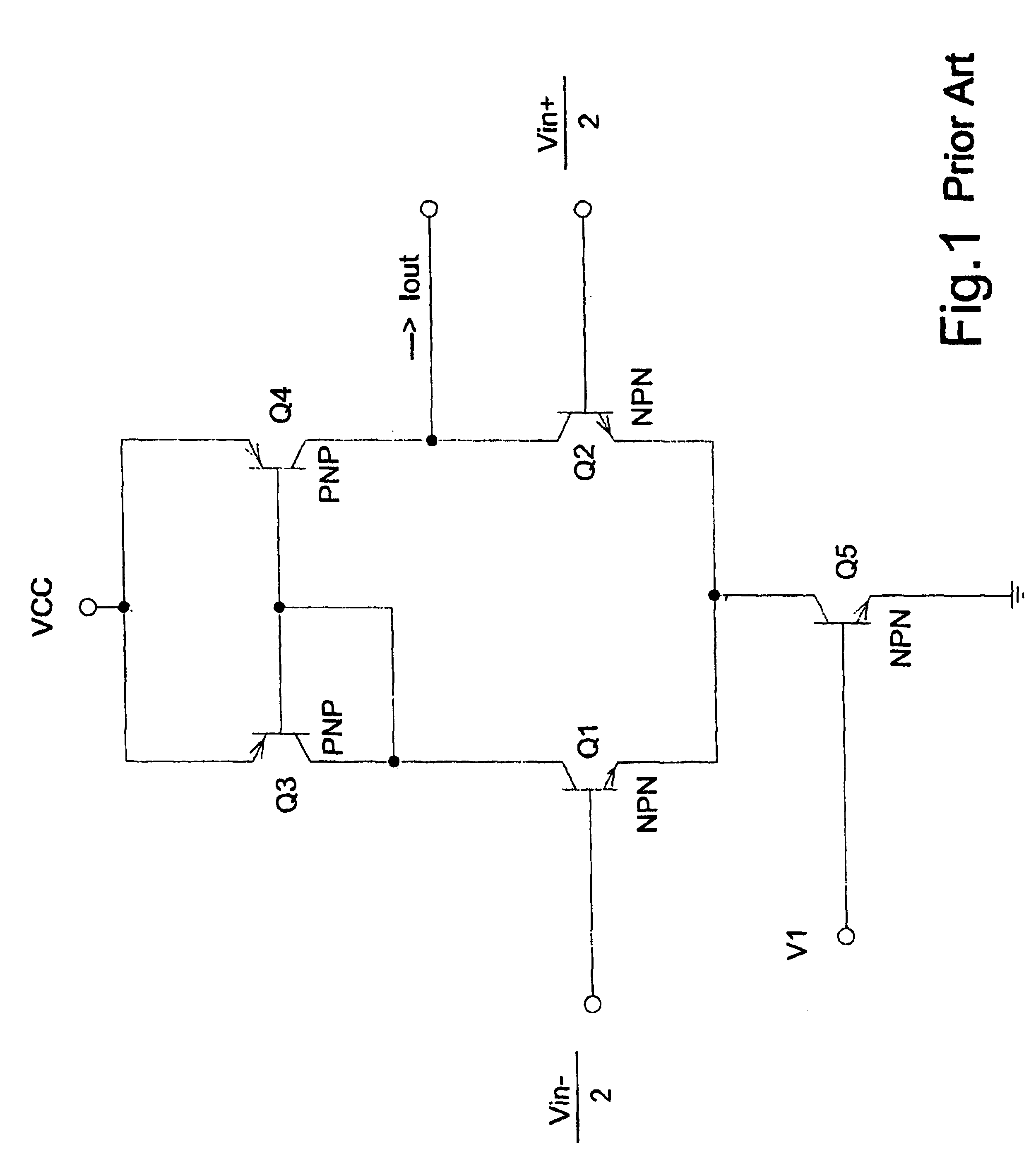 Patent us6774699 bjt mixer for low supply voltage for Transistor fonctionnement